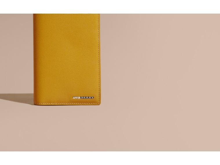 London Leather Continental Wallet Larch Yellow - cell image 1