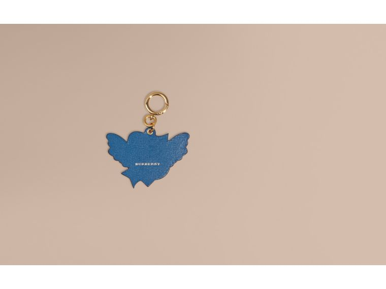 Celadon blue Leather Everlasting Love Charm - cell image 1