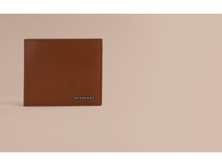 London Leather Folding Coin Wallet | Burberry - cell image 1
