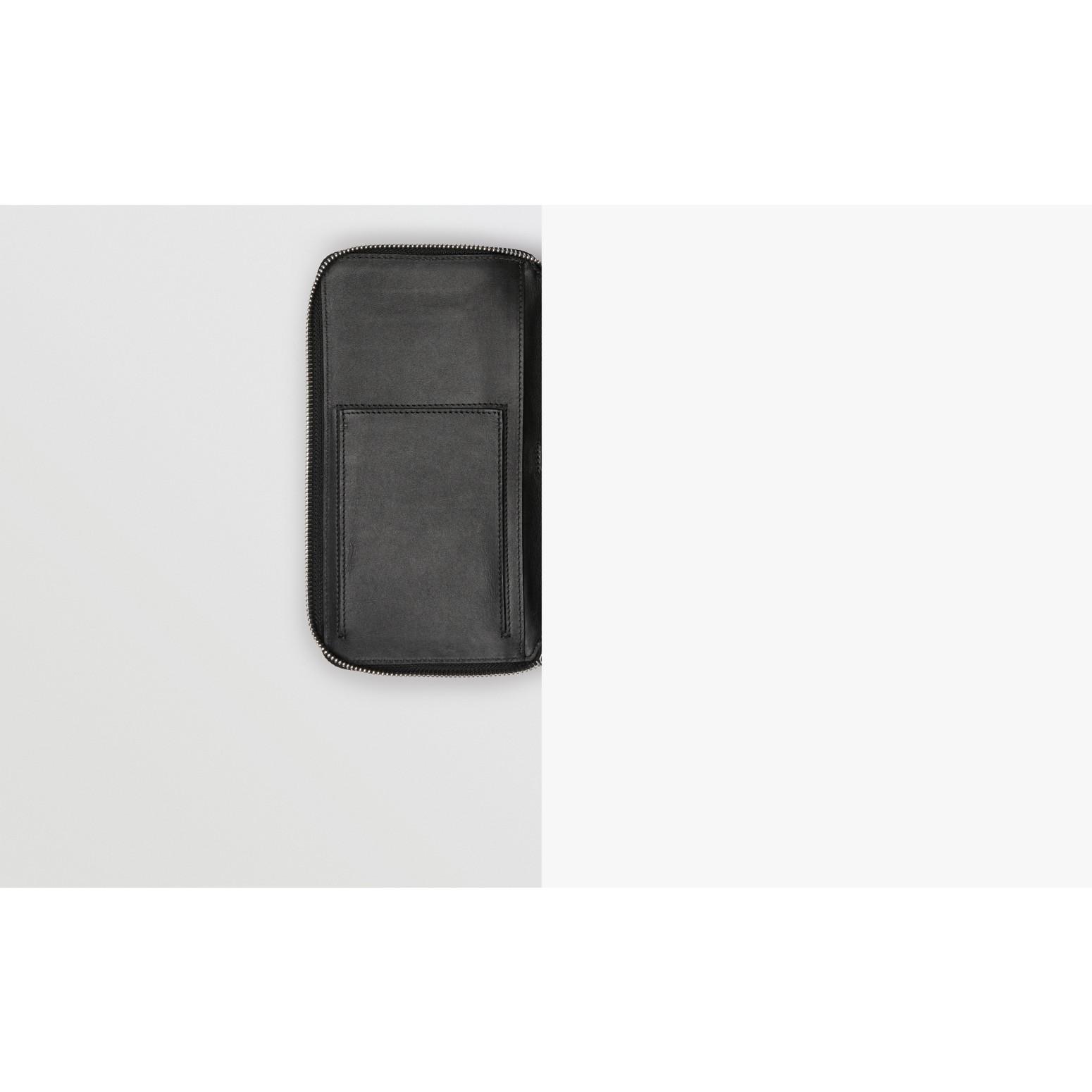 Reisebrieftasche aus London Check-Gewebe (Anthrazit/schwarz) - Herren   Burberry - Galerie-Bild 1
