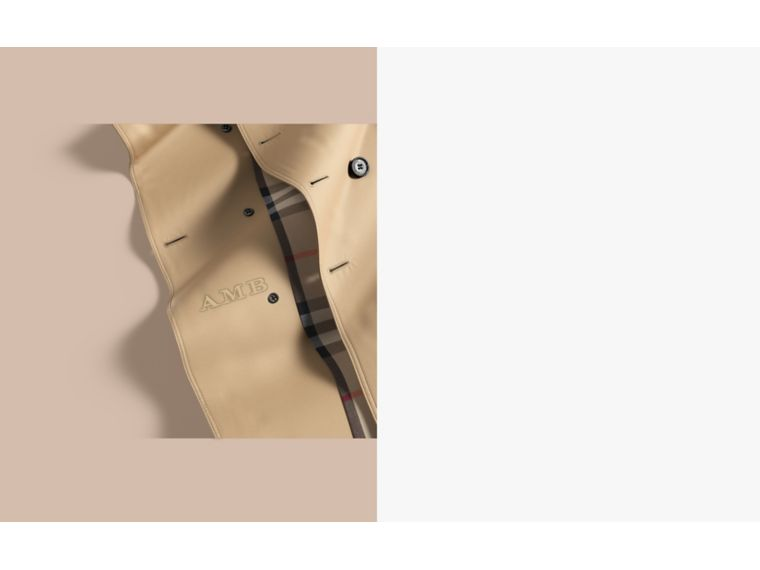 The Kensington - Trench coat Heritage lungo (Miele) - Uomo | Burberry - cell image 1