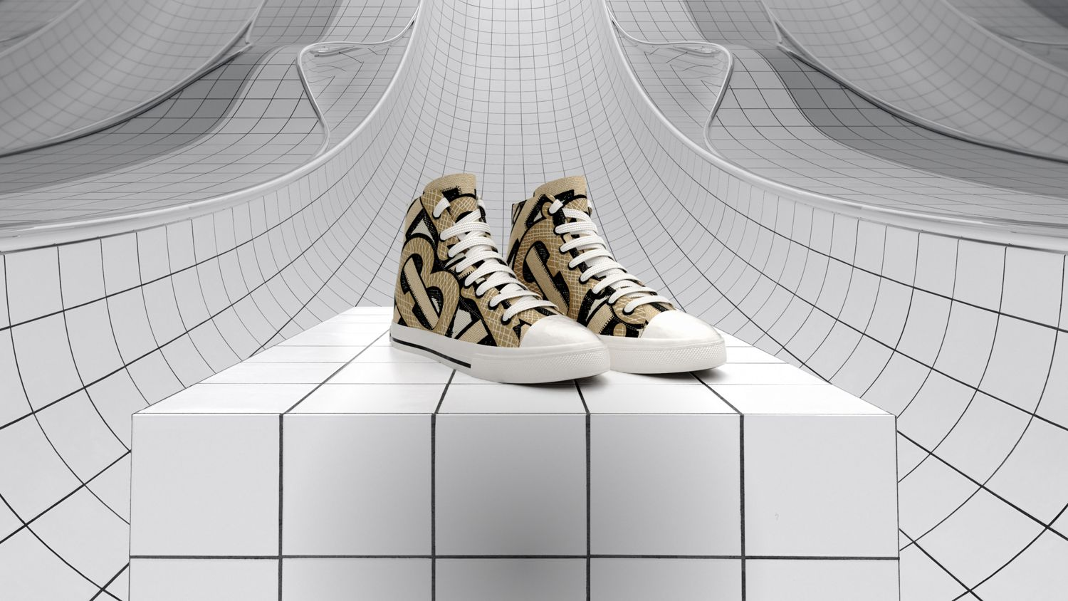 Graphic Sneakers