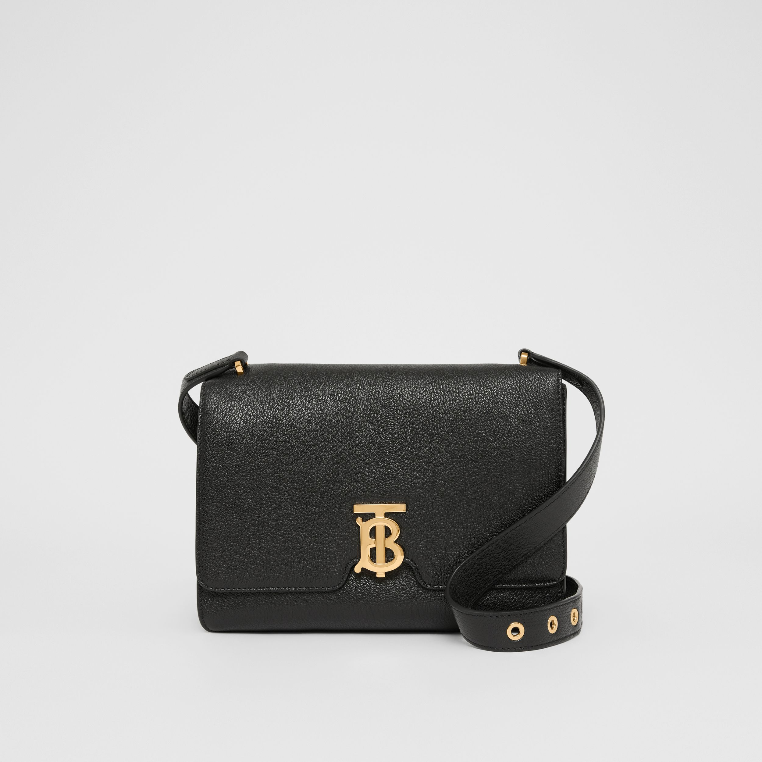 Medium Grainy Leather Alice Bag in Black - Women | Burberry Australia - 1