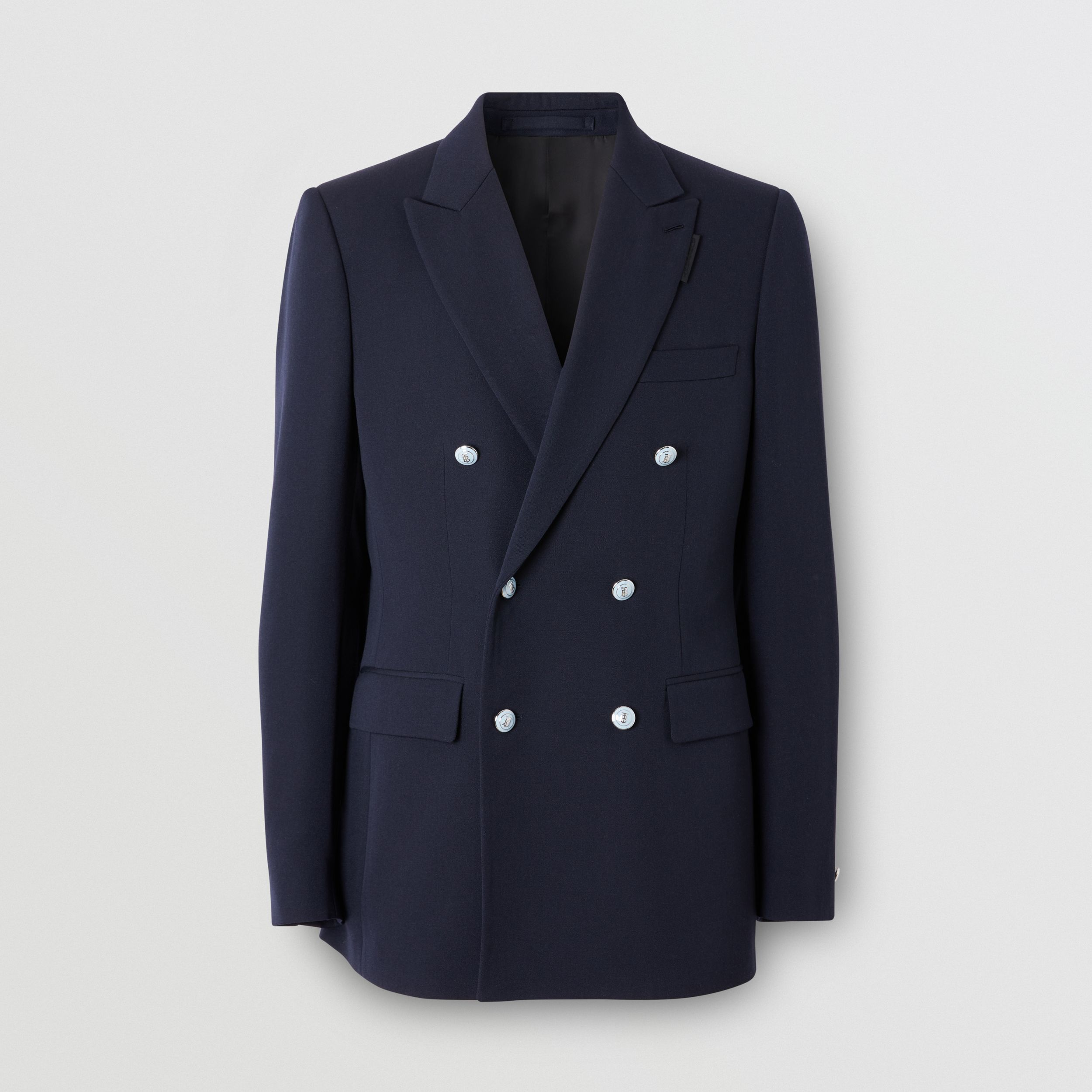 English Fit Wool Double-breasted Jacket - Men | Burberry - 4