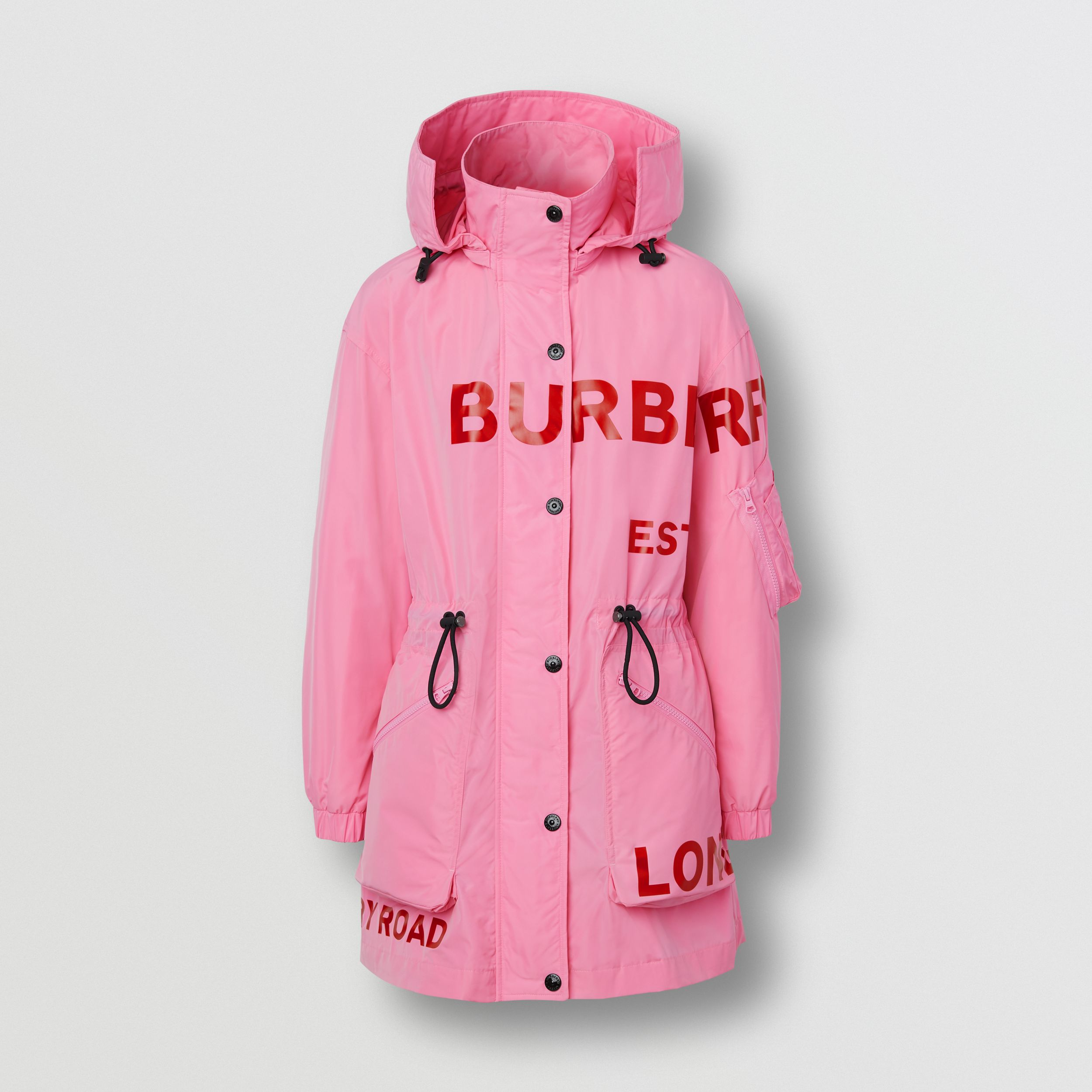 Horseferry Print Shape-memory Taffeta Parka - Women | Burberry - 4