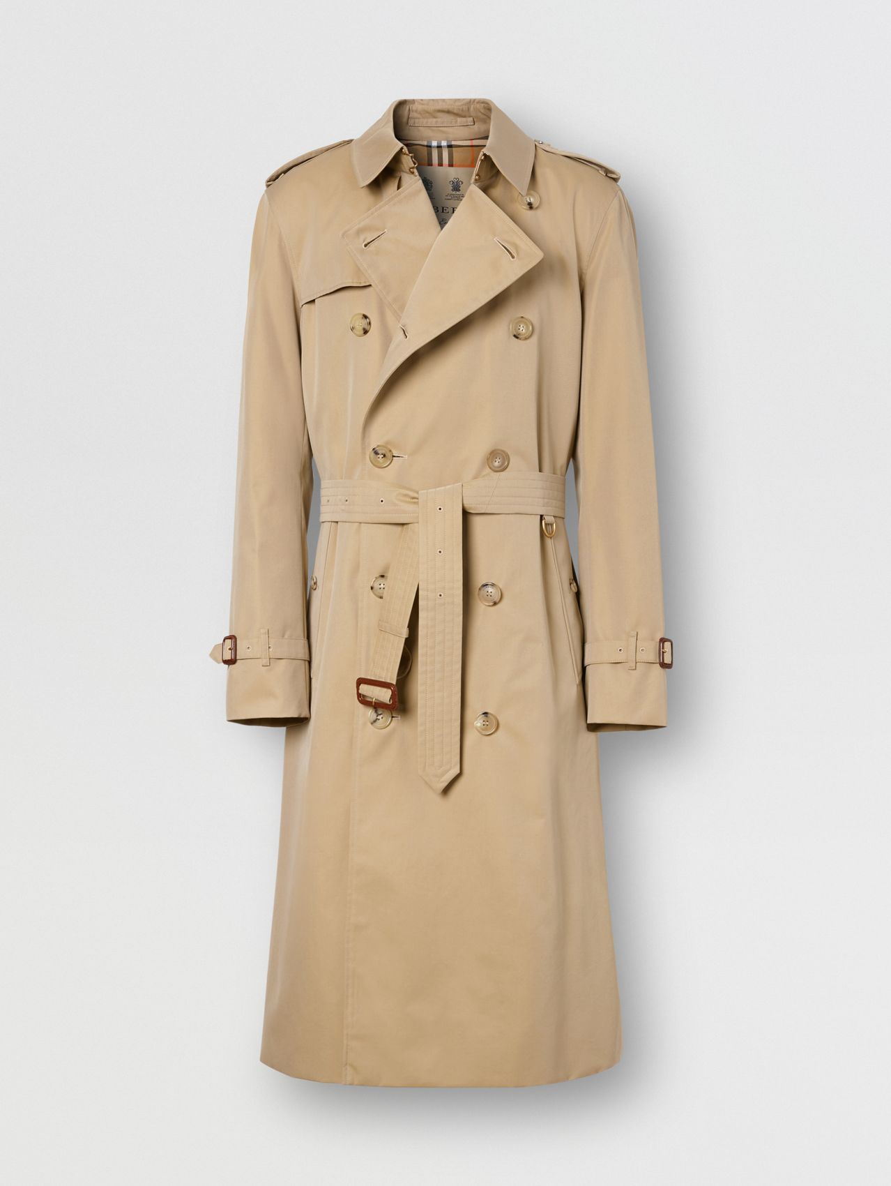 The Long Chelsea Heritage Trench Coat (Honey)