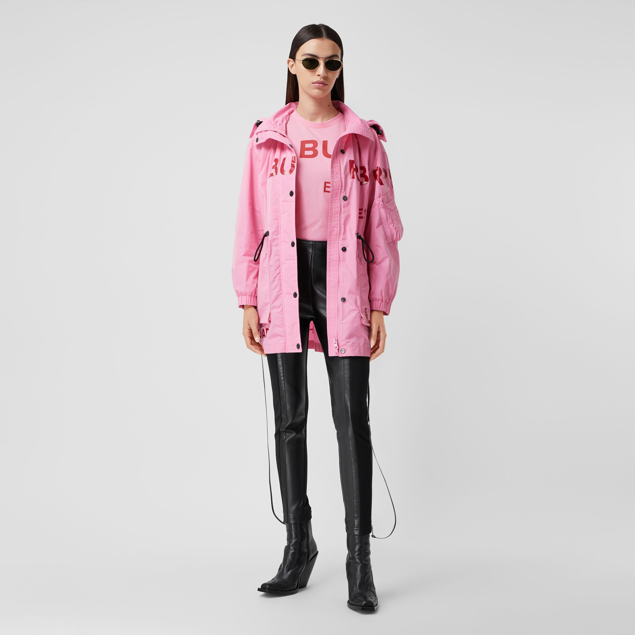 Horseferry Print Shape-memory Taffeta Parka - Women | Burberry - 1
