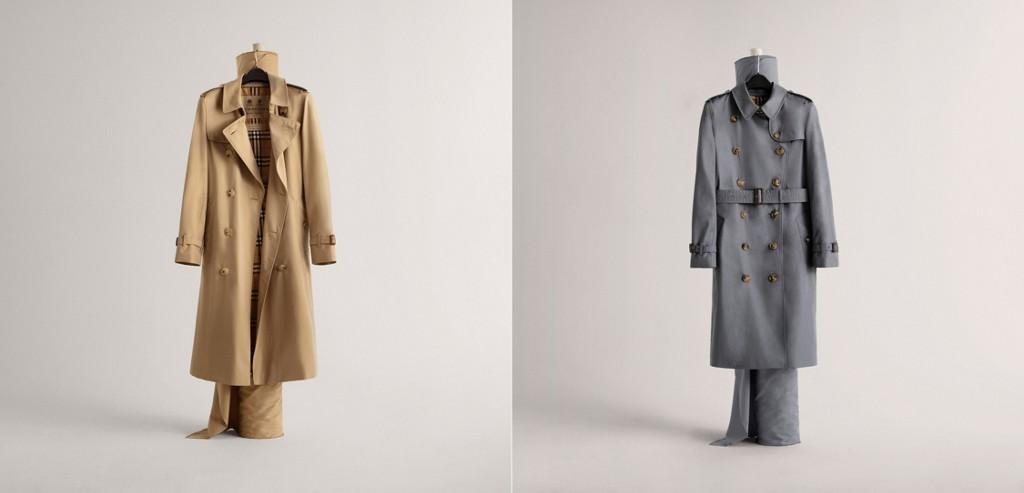 Le manteau Burberry du style pour lui et pour elle
