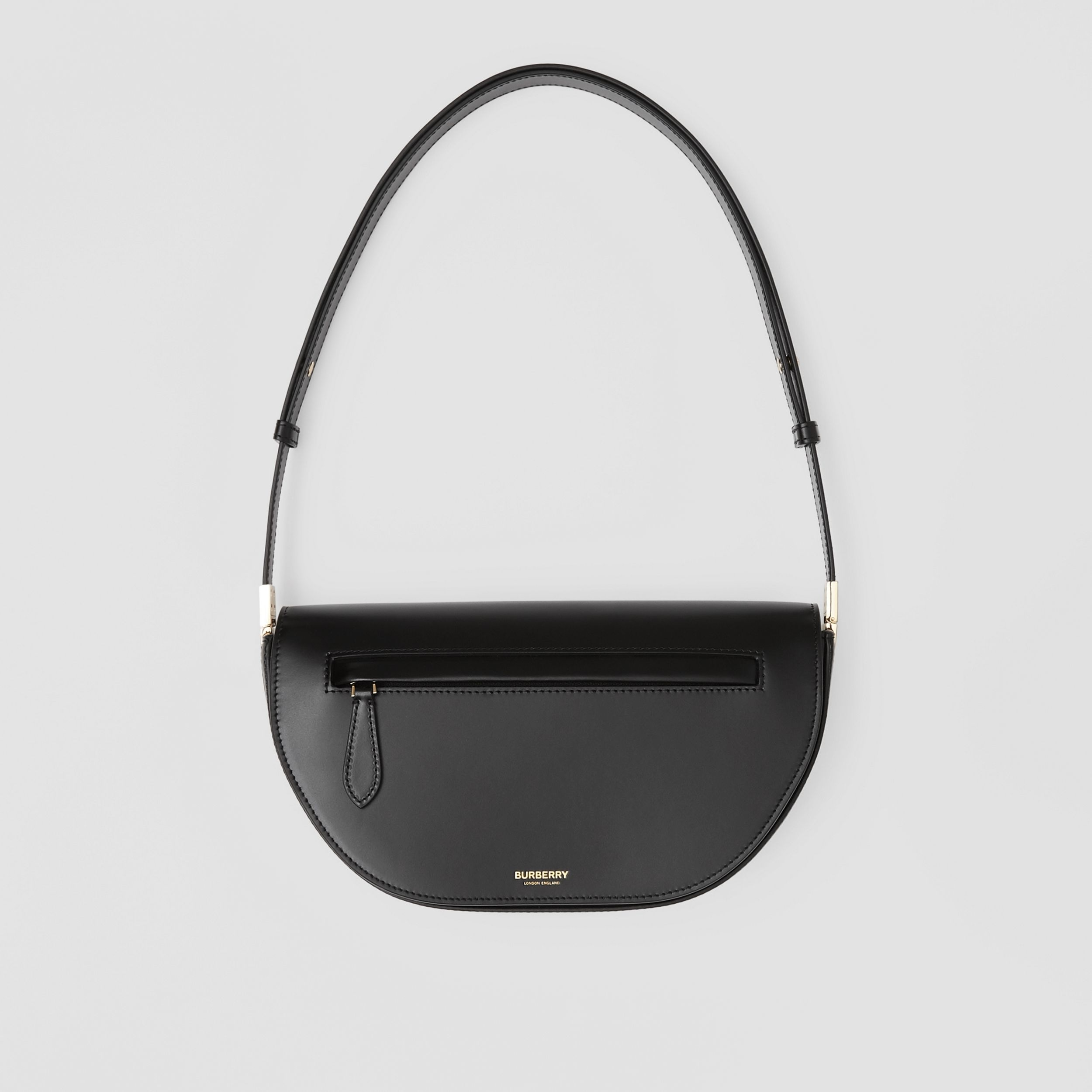 Small Leather Olympia Bag in Black - Women | Burberry - 1