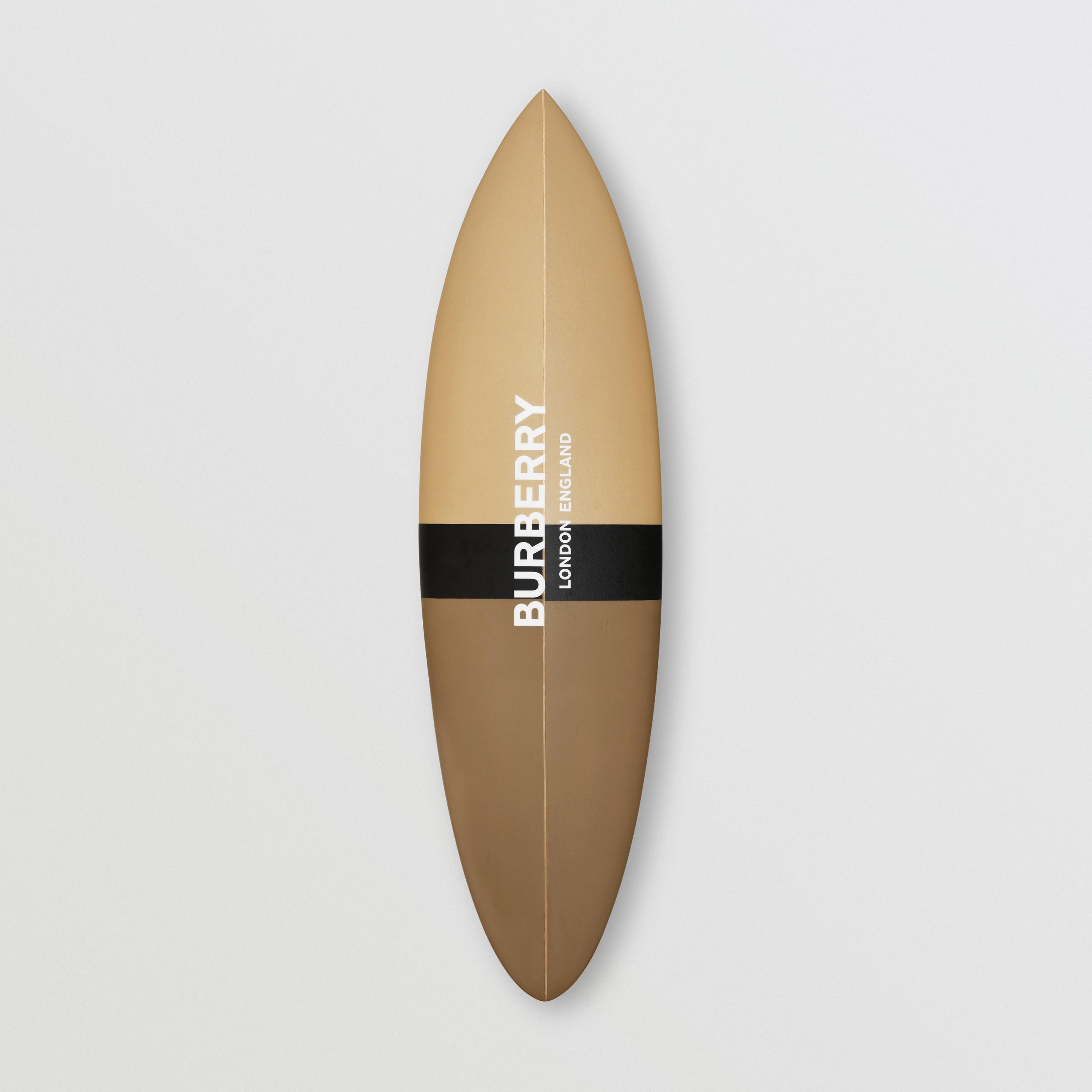 Tavola da surf con stampa monogramma (Beige Scuro) | Burberry - 1