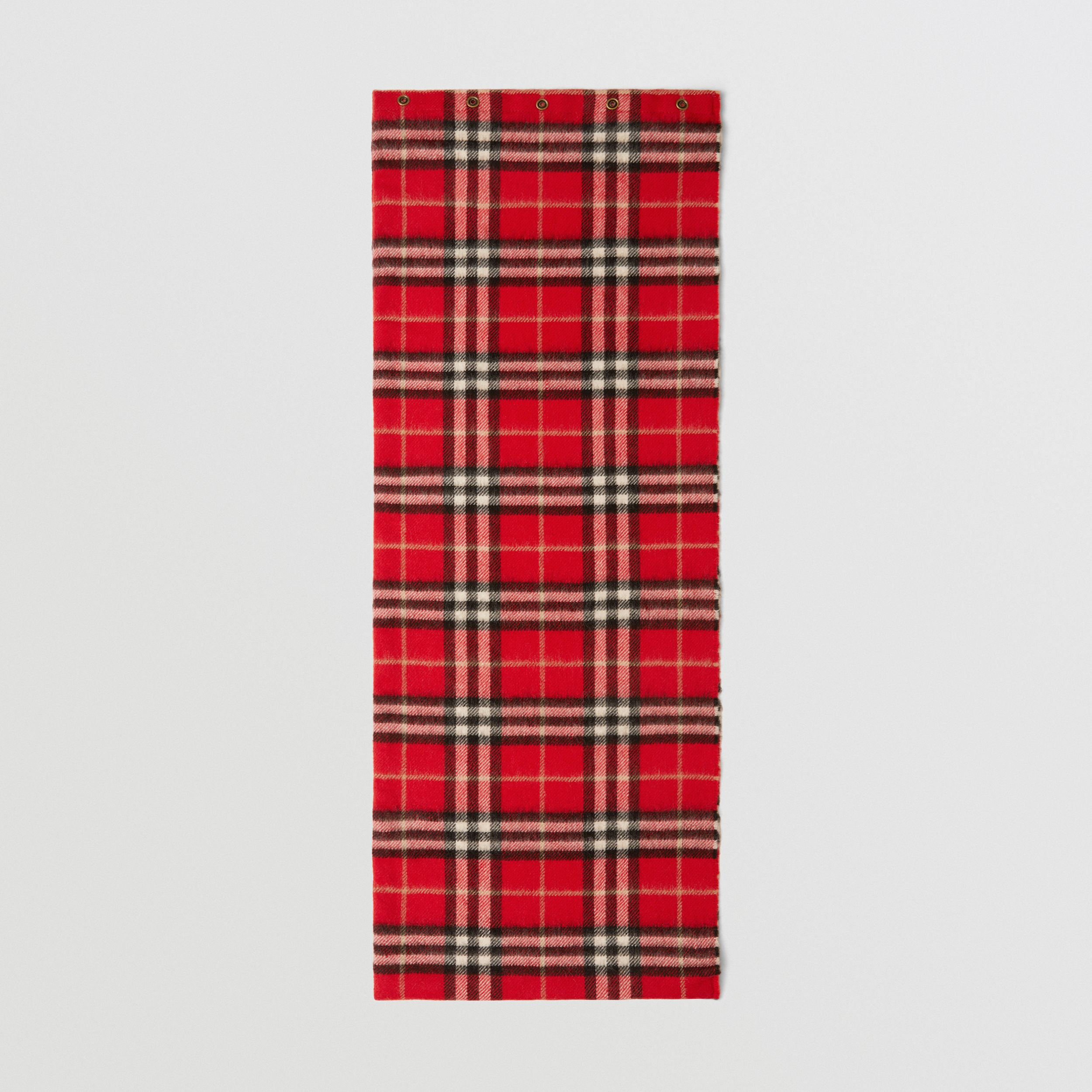 Vintage Check Cashmere Snood in Bright Red - Children | Burberry - 3