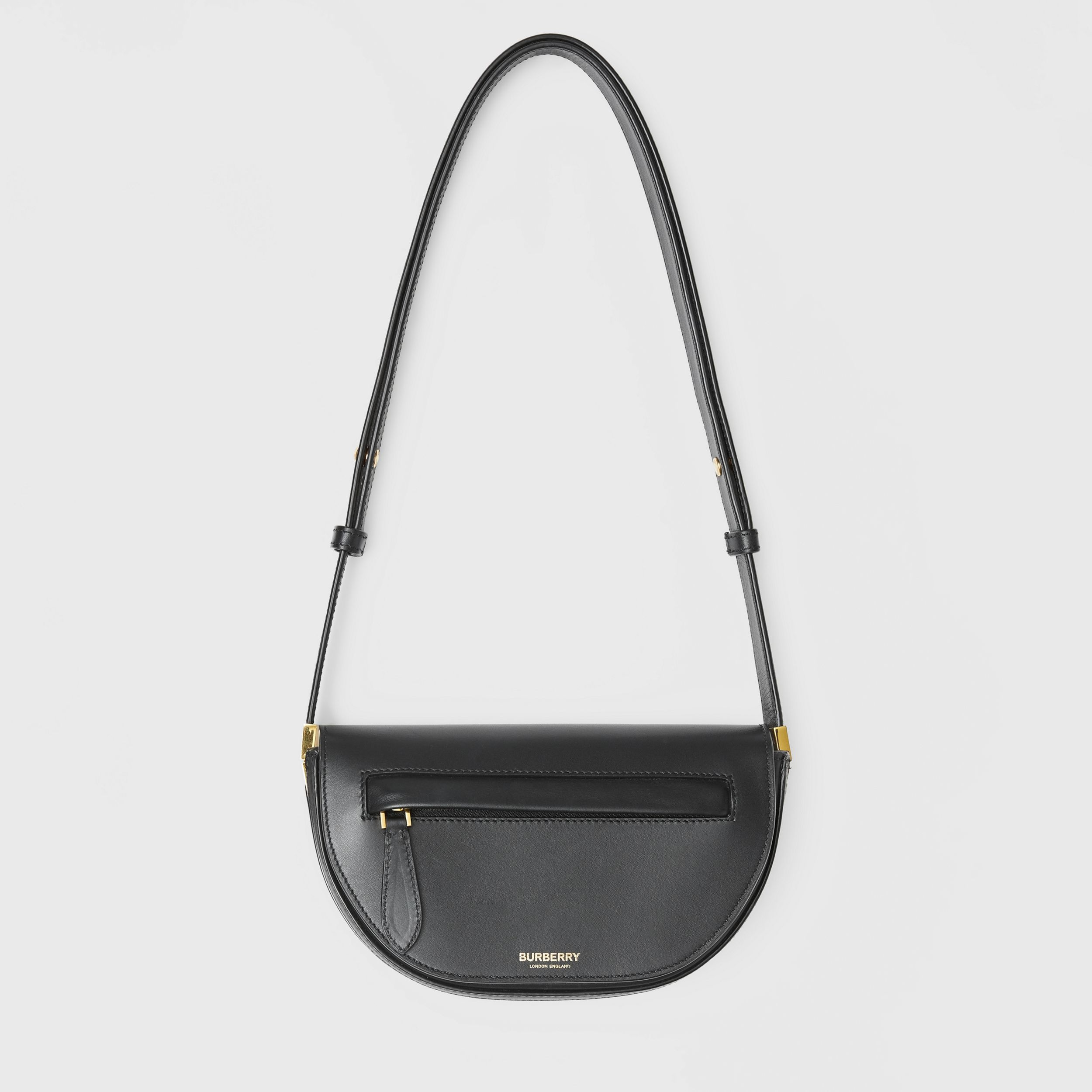 Mini Leather Olympia Bag in Black | Burberry - 1