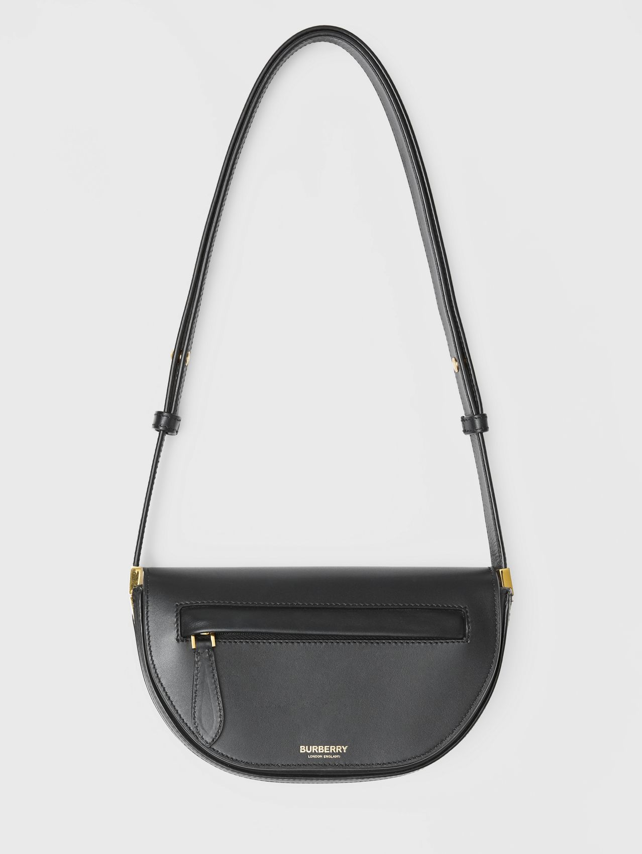 Borsa Olympia mini in pelle (Nero)
