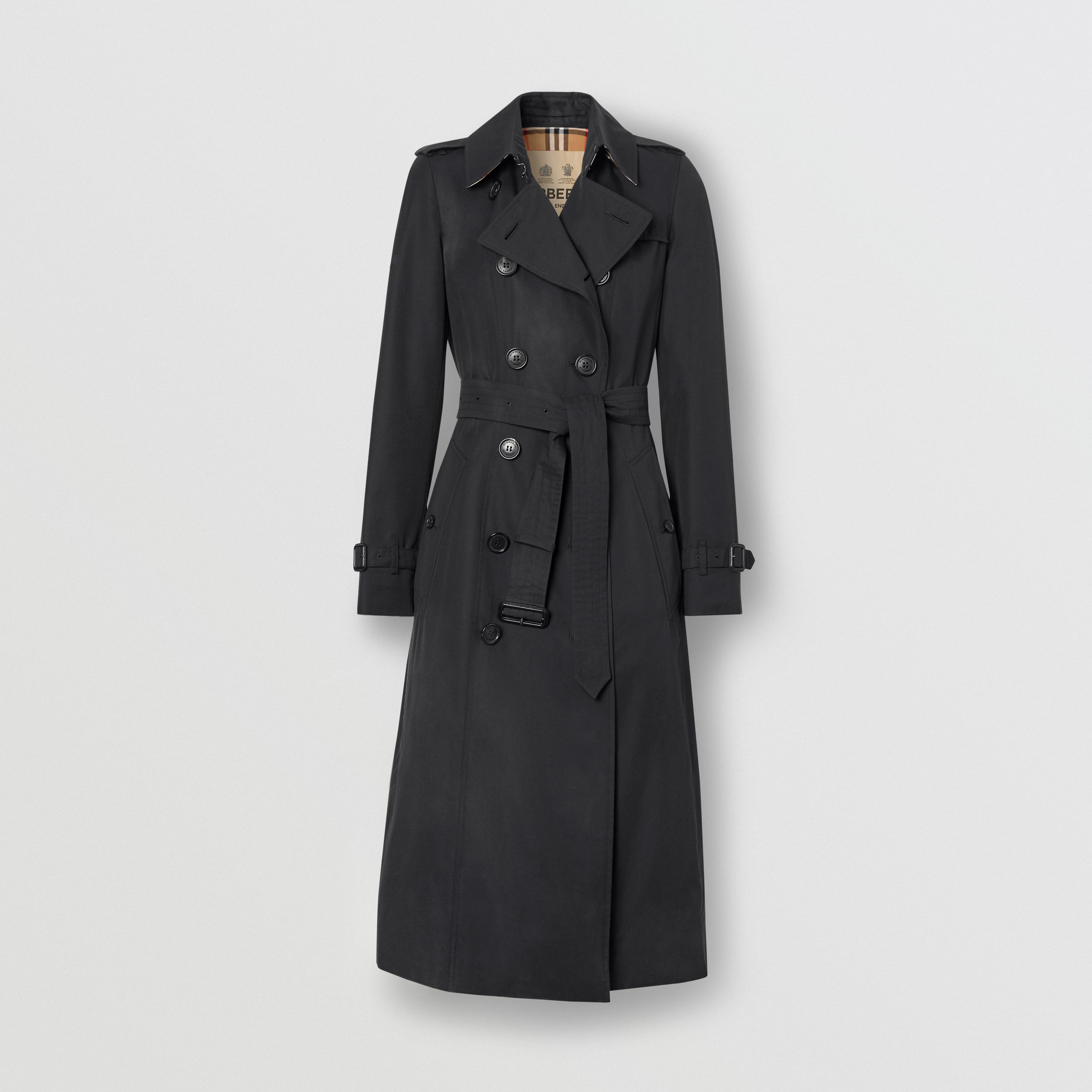 The Long Chelsea Heritage Trench Coat in Midnight | Burberry - 3