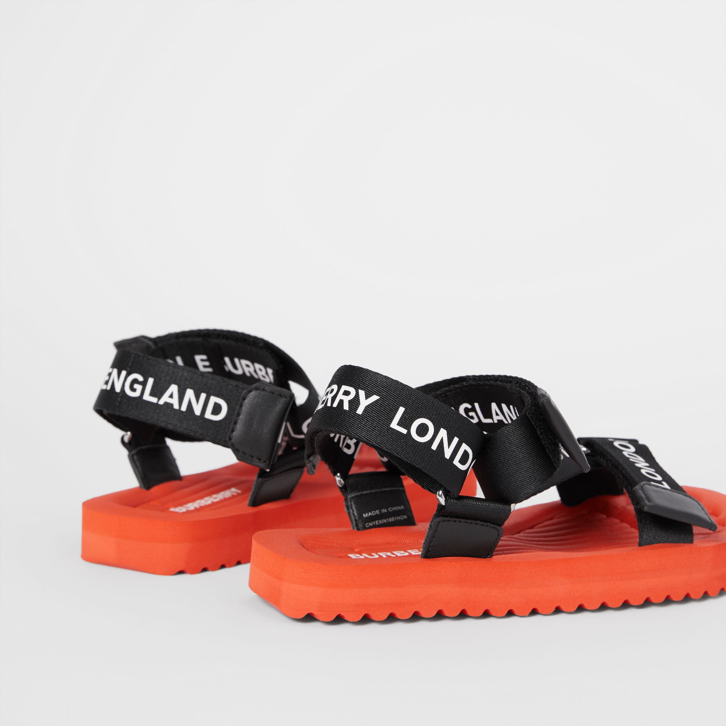 Logo Print Sandals - Children | Burberry - 2