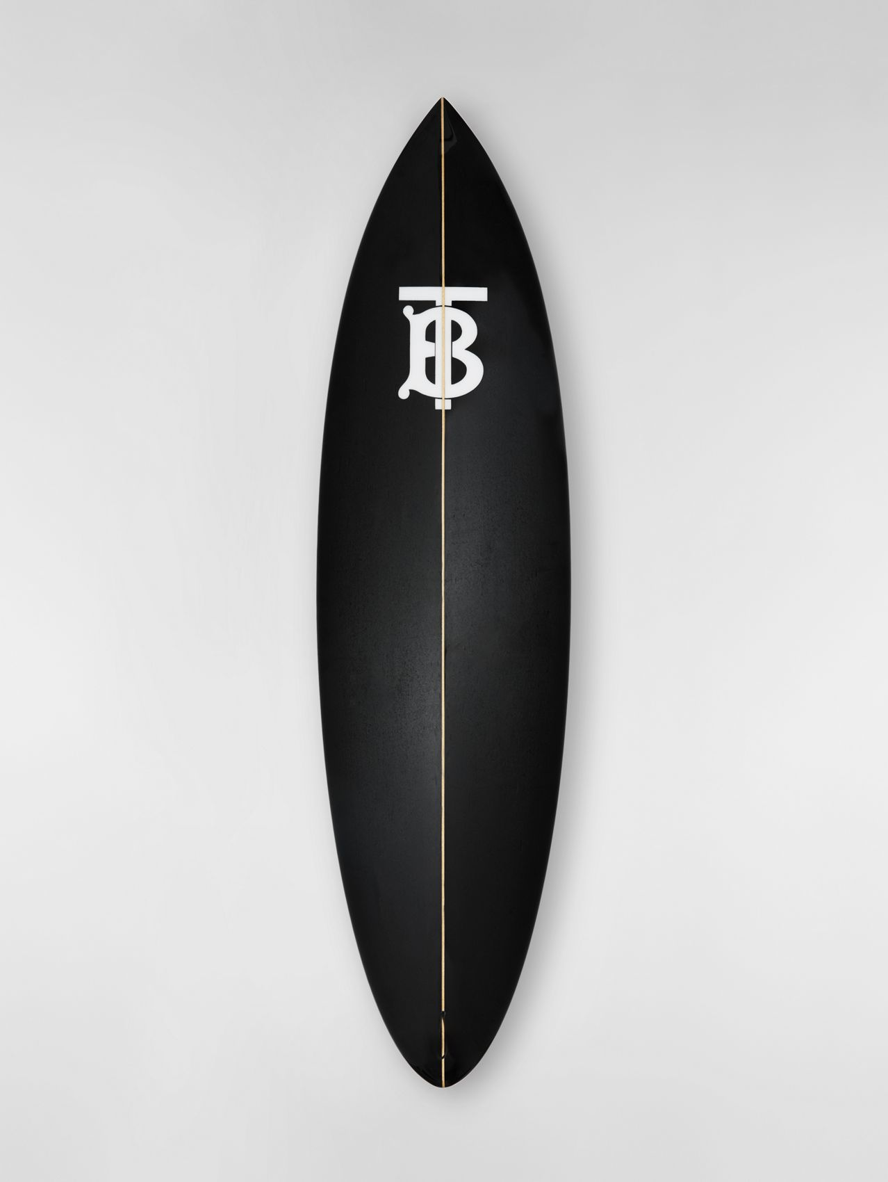 Monogram Motif Surfboard in Graphite