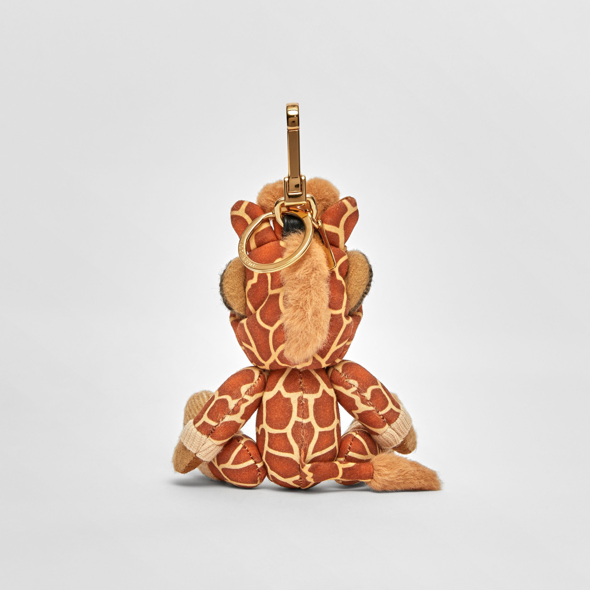 Thomas Bear Charm in Giraffe Costume in Archive Beige | Burberry - 4