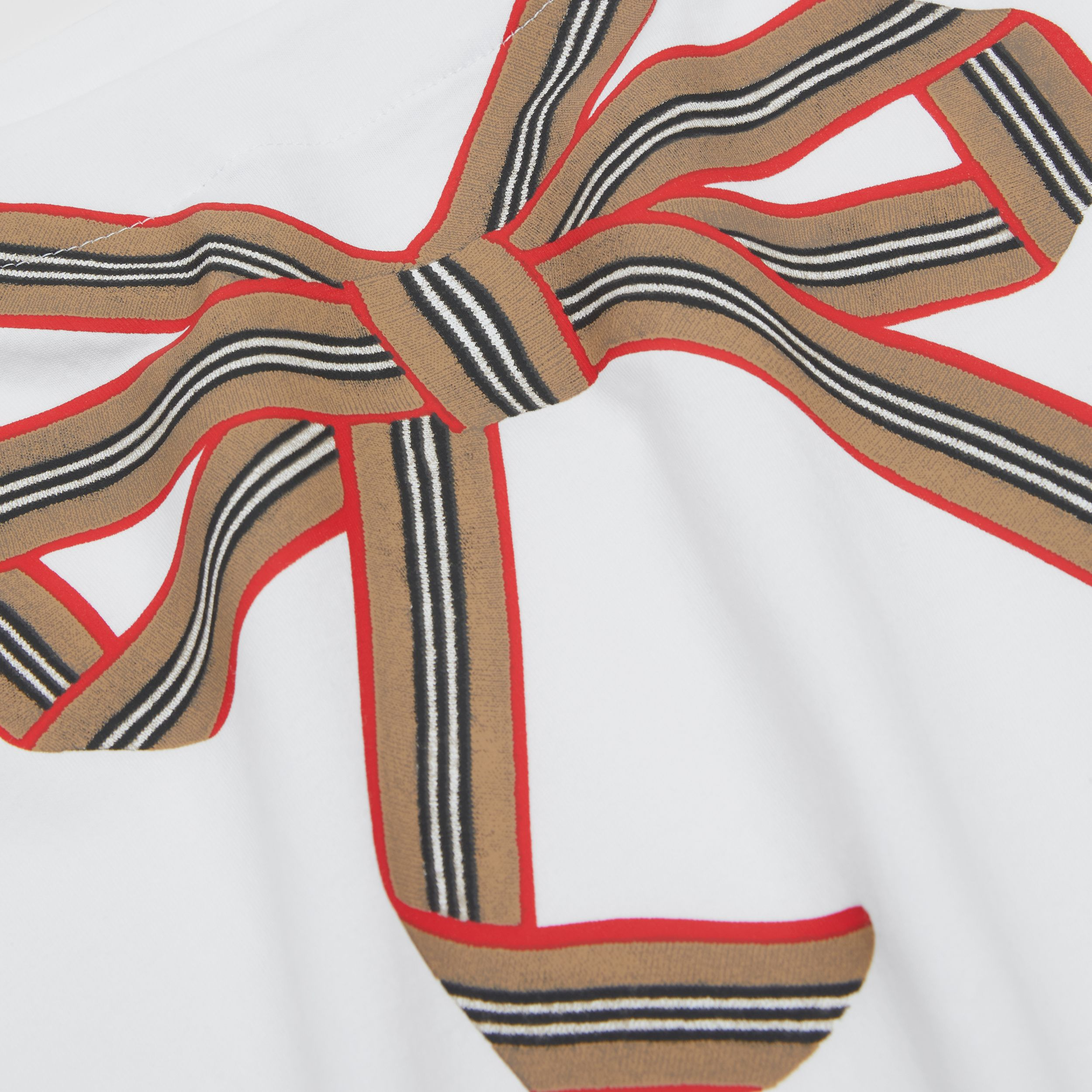 Icon Stripe Bow Cotton T-shirt | Burberry Hong Kong S.A.R. - 2