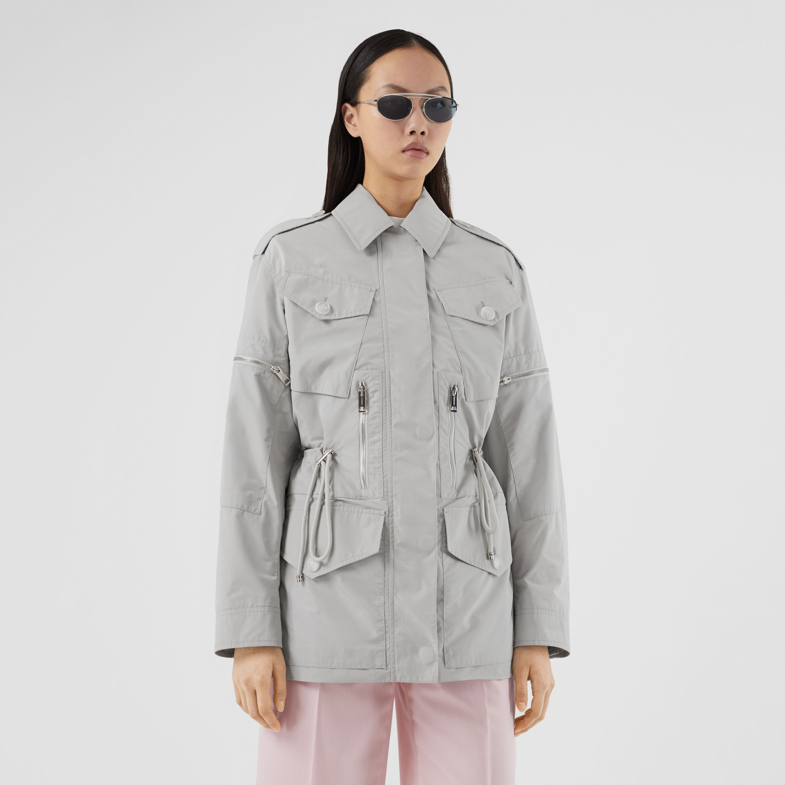 Shape-memory Taffeta Field Jacket - Women | Burberry - 4