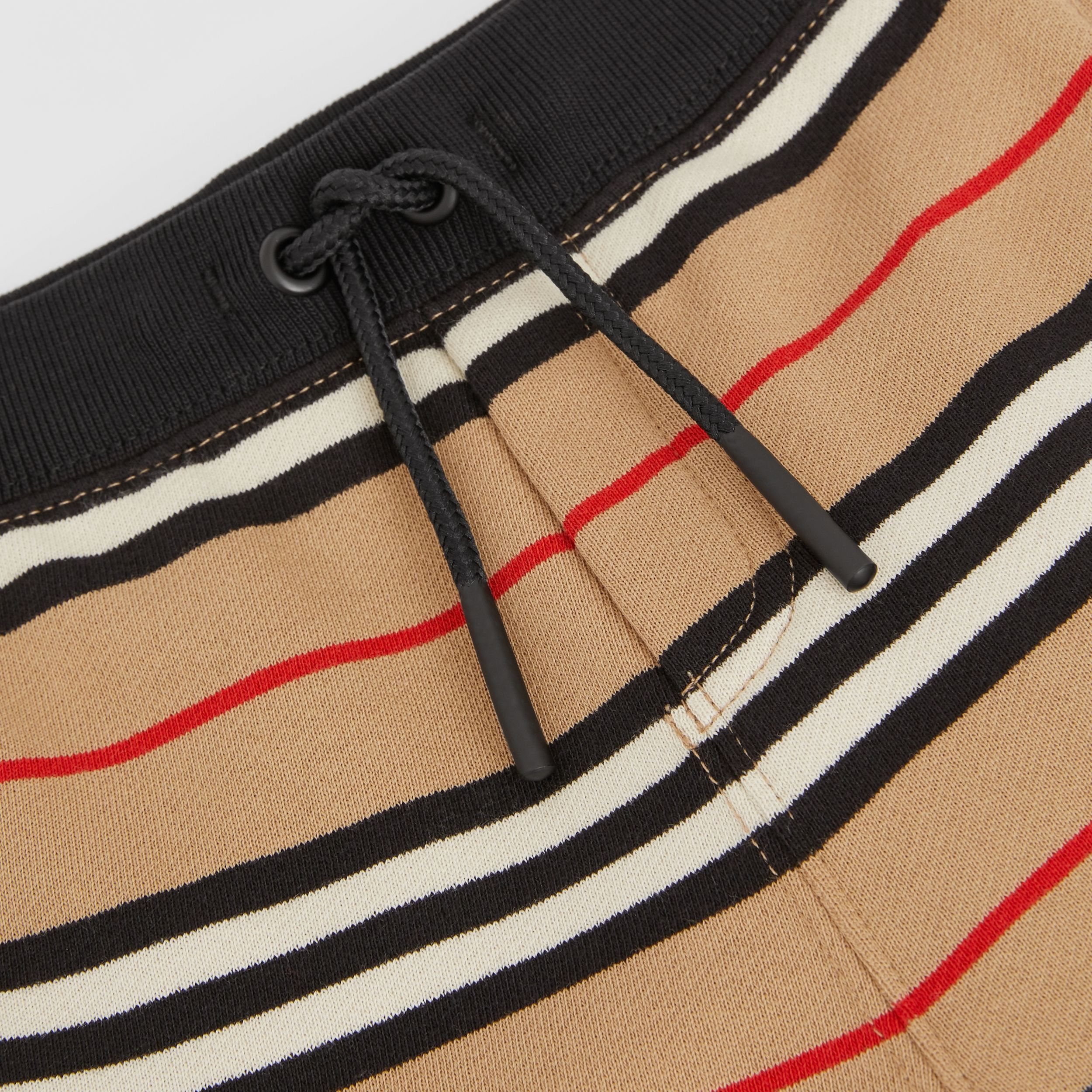 Icon Stripe Cotton Shorts in Archive Beige - Children | Burberry United Kingdom - 2