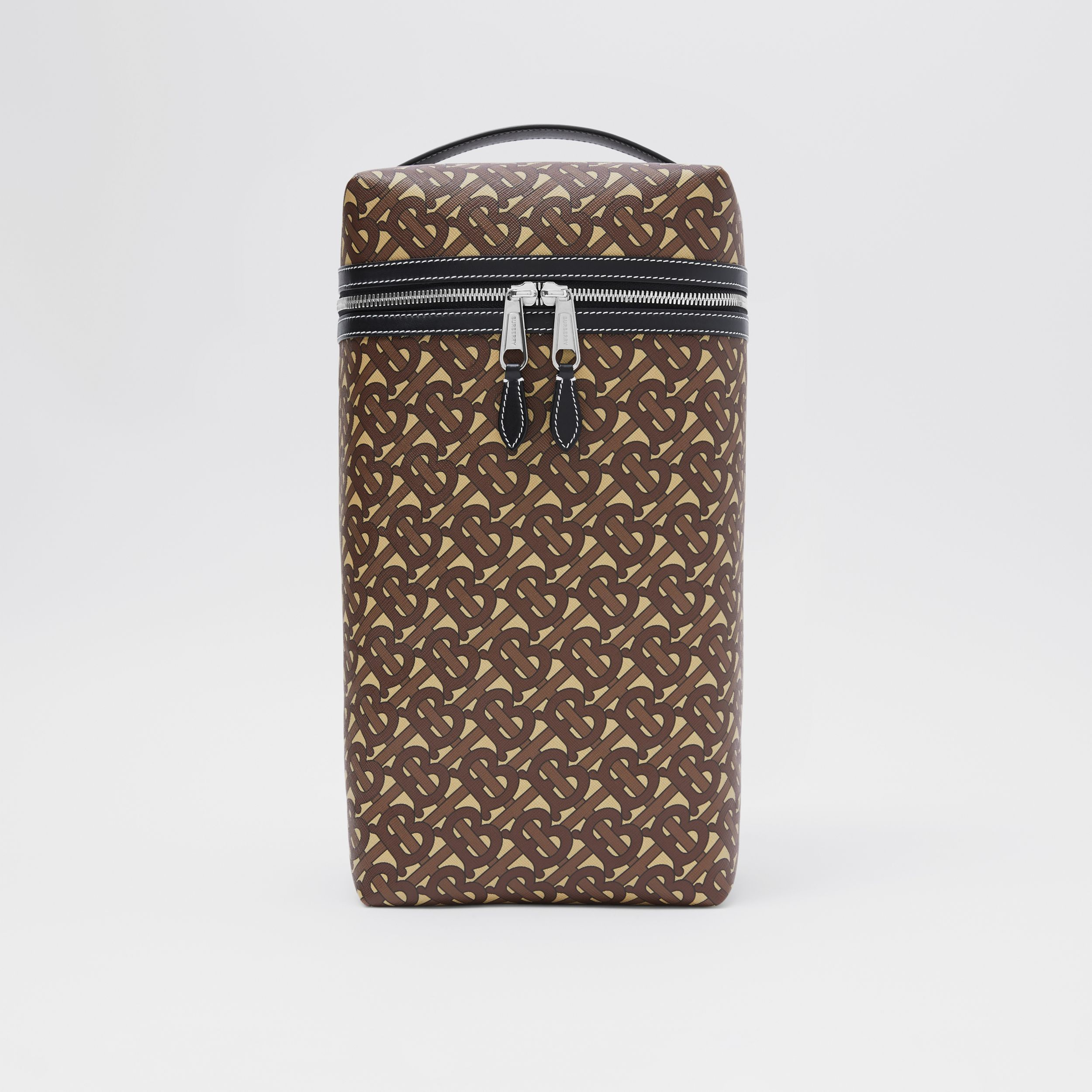 Monogram Print E-canvas Sneaker Bag in Bridle Brown - Men | Burberry United Kingdom - 1