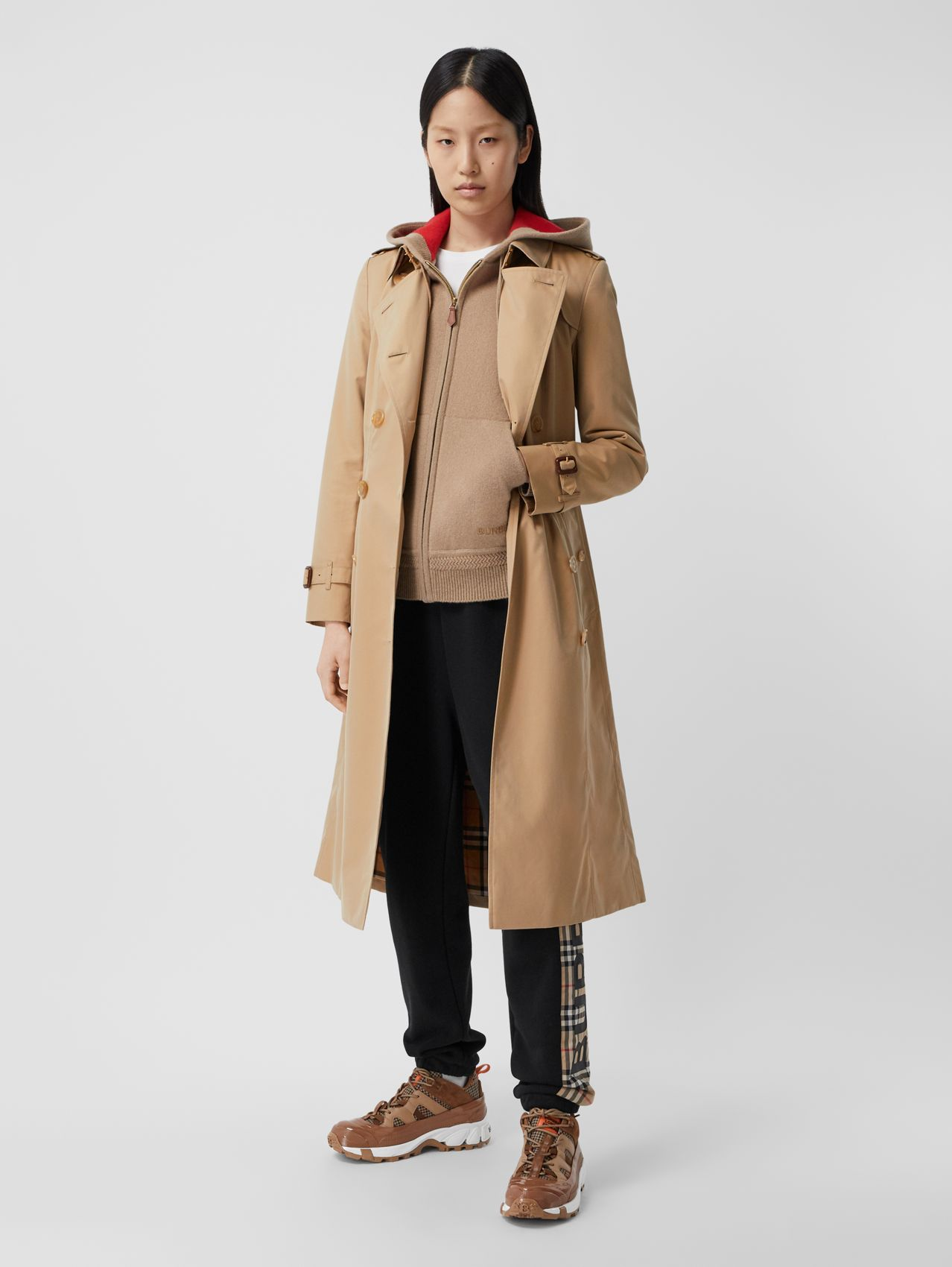 The Chelsea - Trench coat Heritage longo in Mel