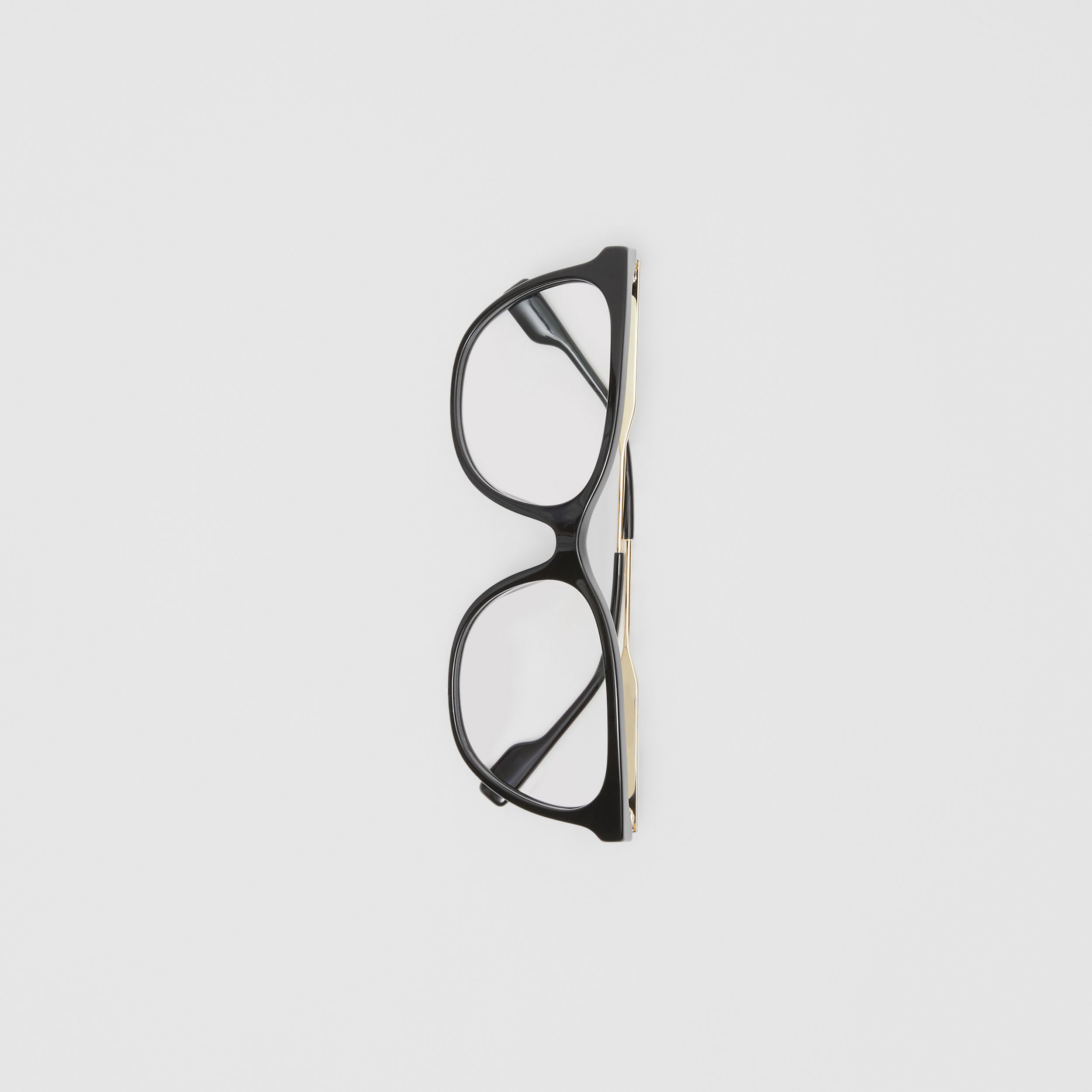 Cat-eye Optical Frames in Black - Women | Burberry - 4