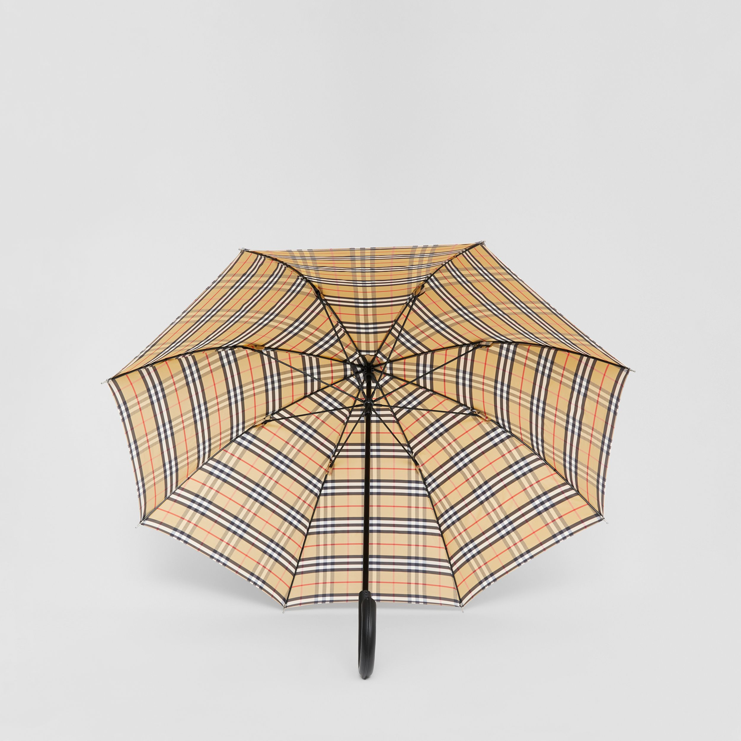 Vintage Check Umbrella in Archive Beige | Burberry - 3
