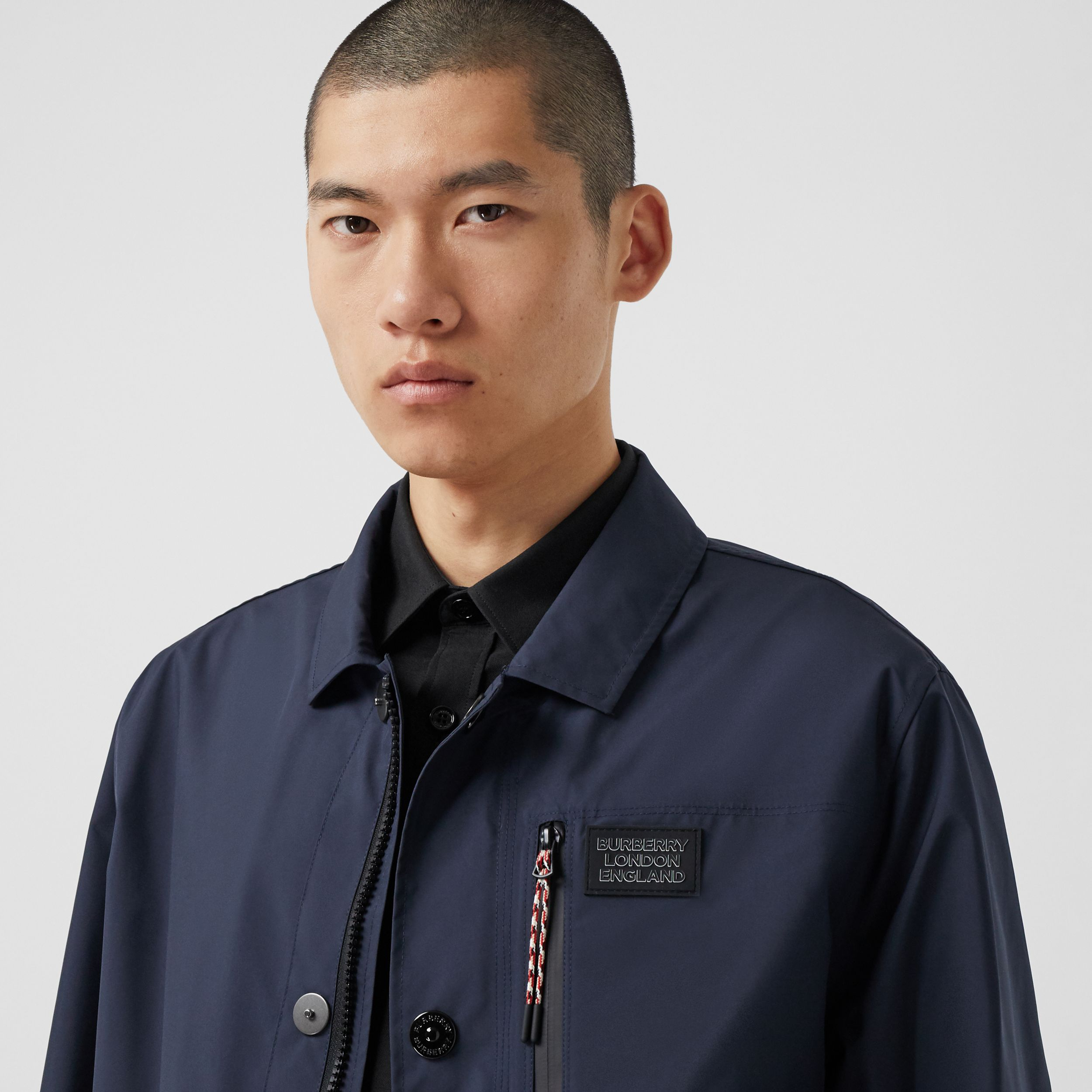 Logo Appliqué Nylon Field Jacket - Men | Burberry - 2