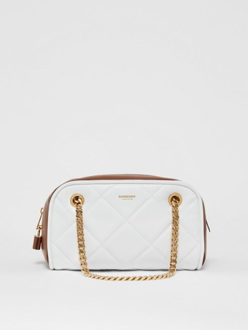 Burberry Small Two-tone Lambsk