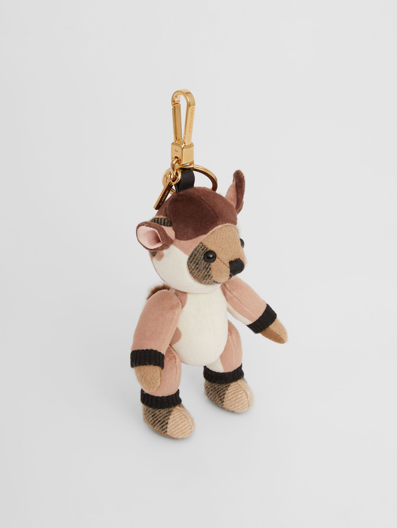 Thomas Bear Charm in Deer Costume in Archive Beige