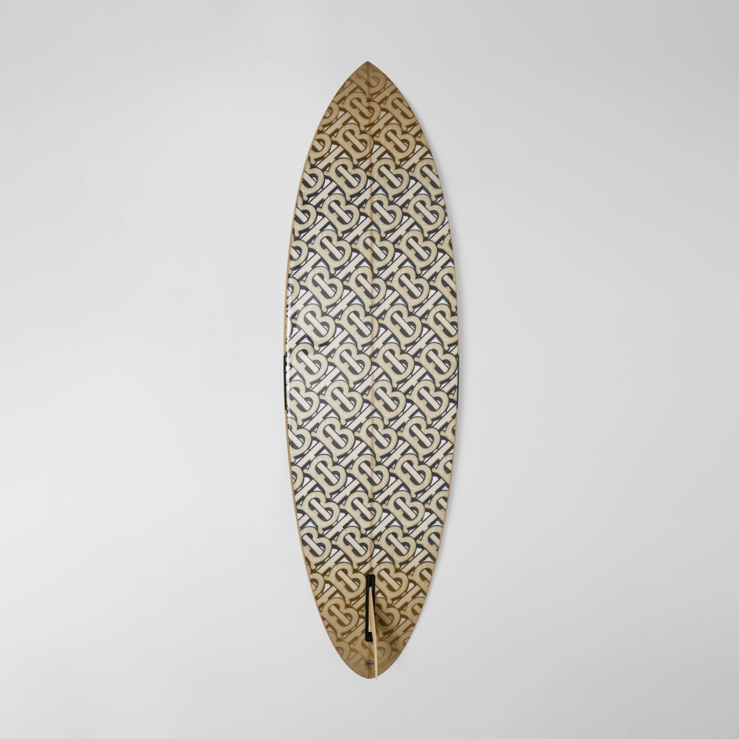 Monogram Print Surfboard in Dark Beige | Burberry - 4