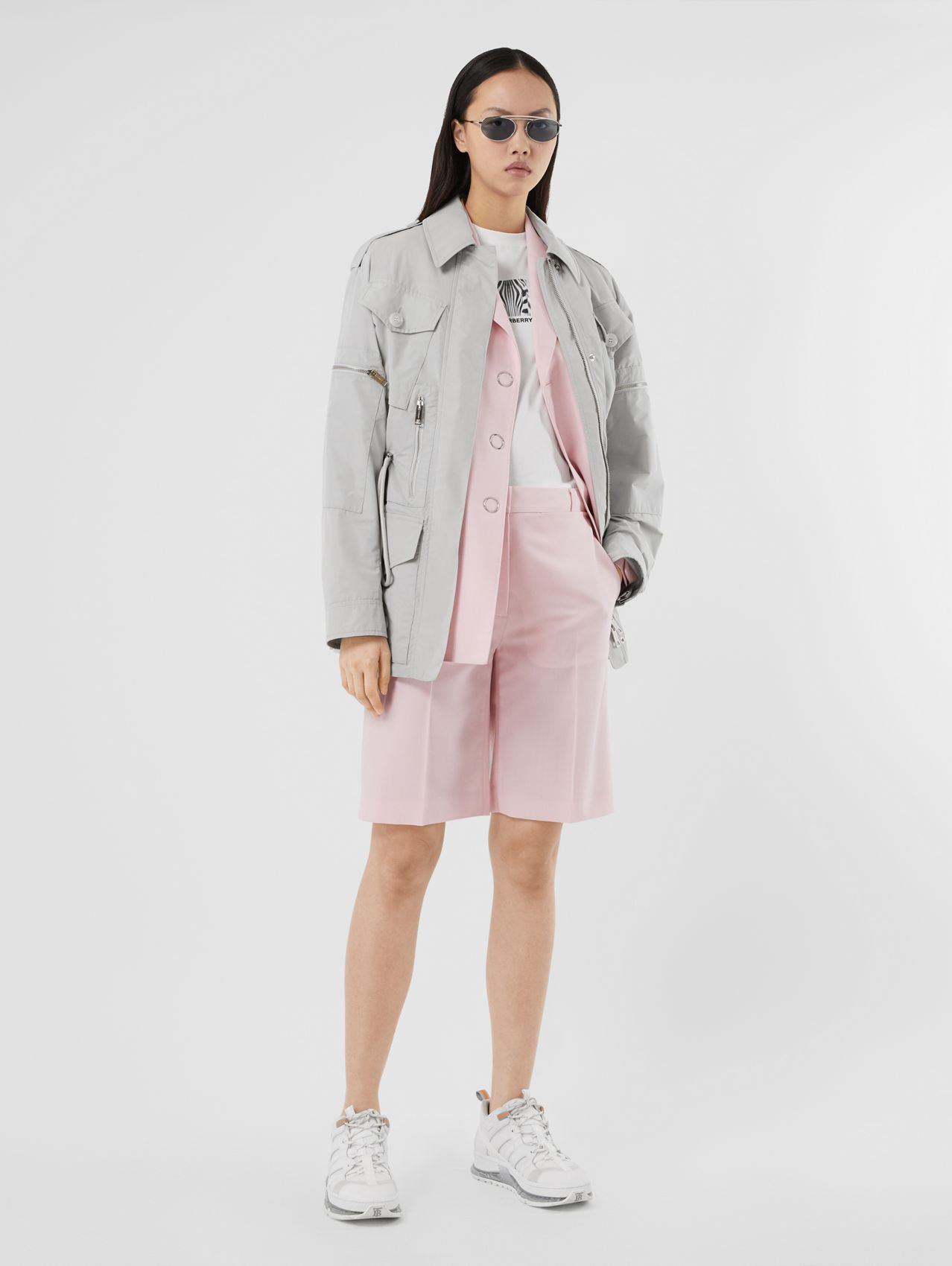 Shape-memory Taffeta Field Jacket