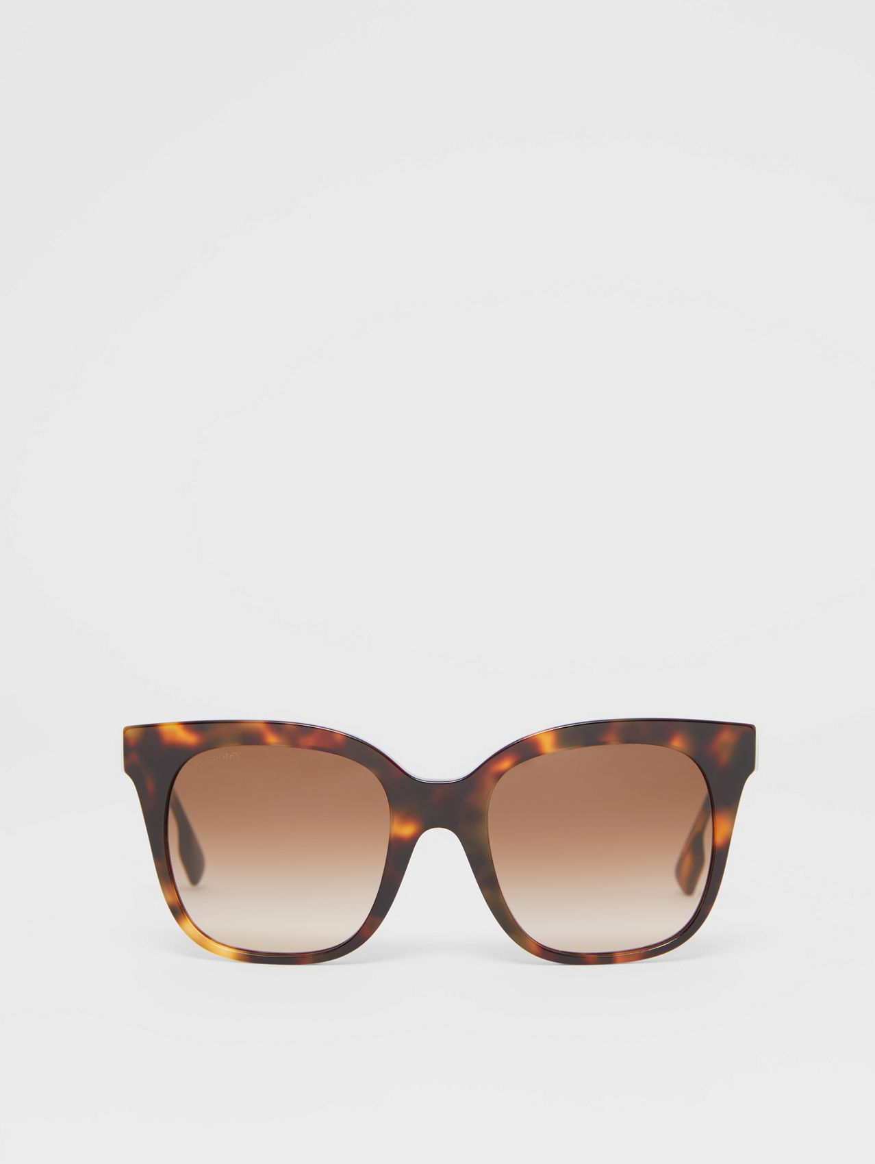 Butterfly Frame Sunglasses in Dark Amber Tortoiseshell