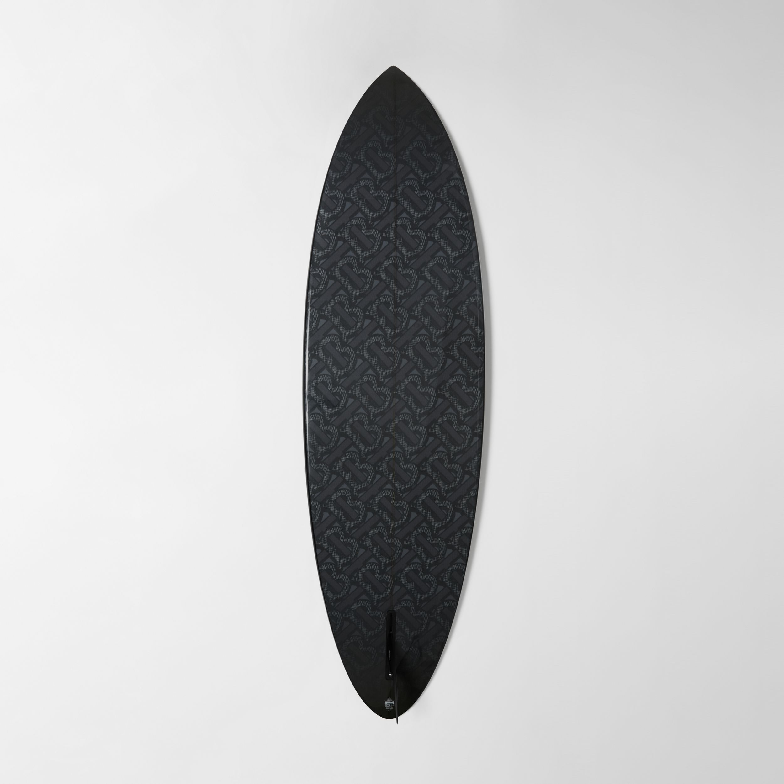 Monogram Motif Surfboard in Graphite | Burberry - 4