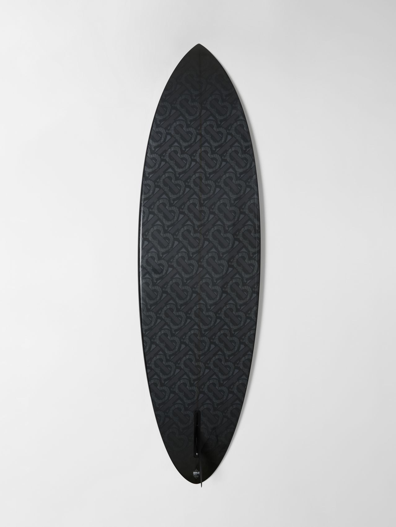 Monogram Motif Surfboard (Graphite)