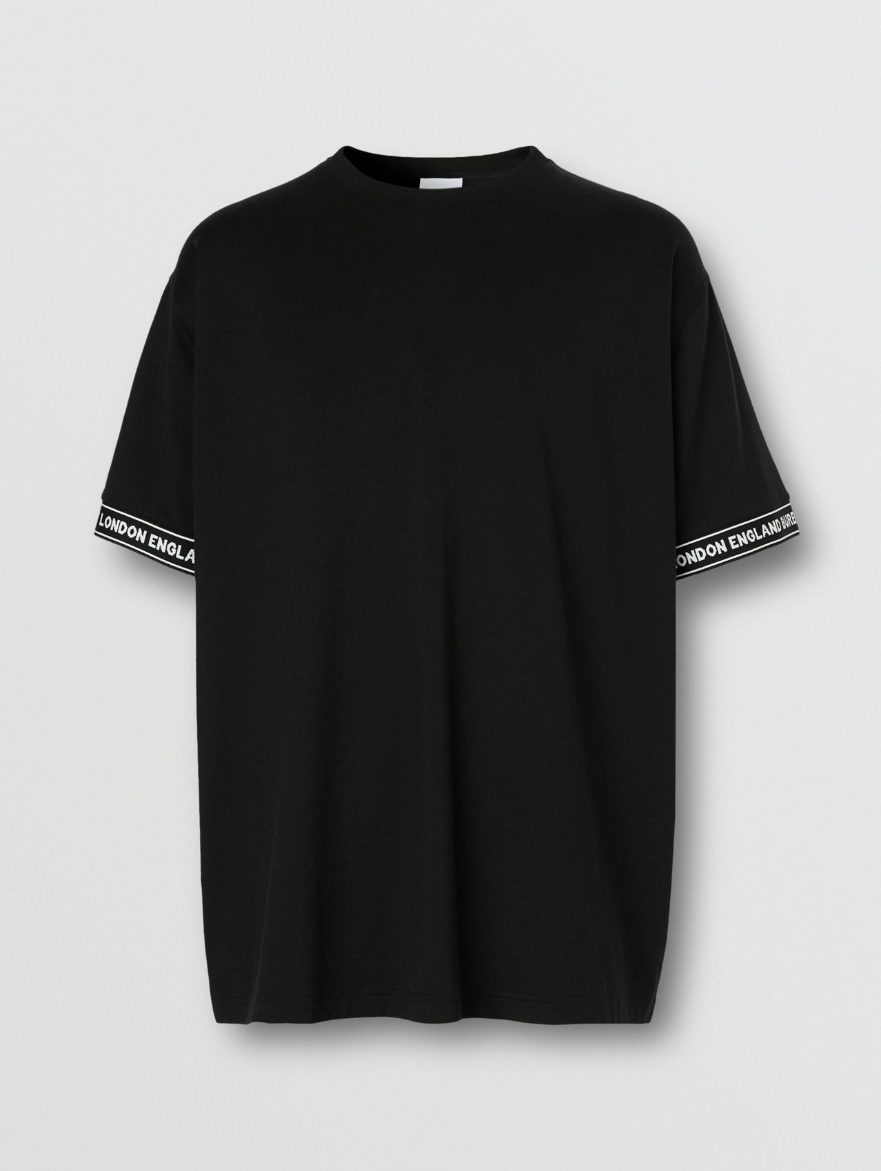 Logo Tape Cotton Oversized T-shirt