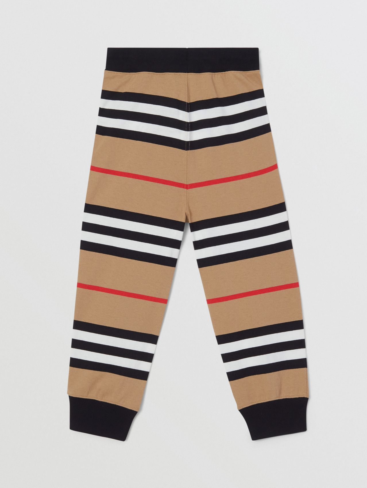 Icon Stripe Cotton Trackpants