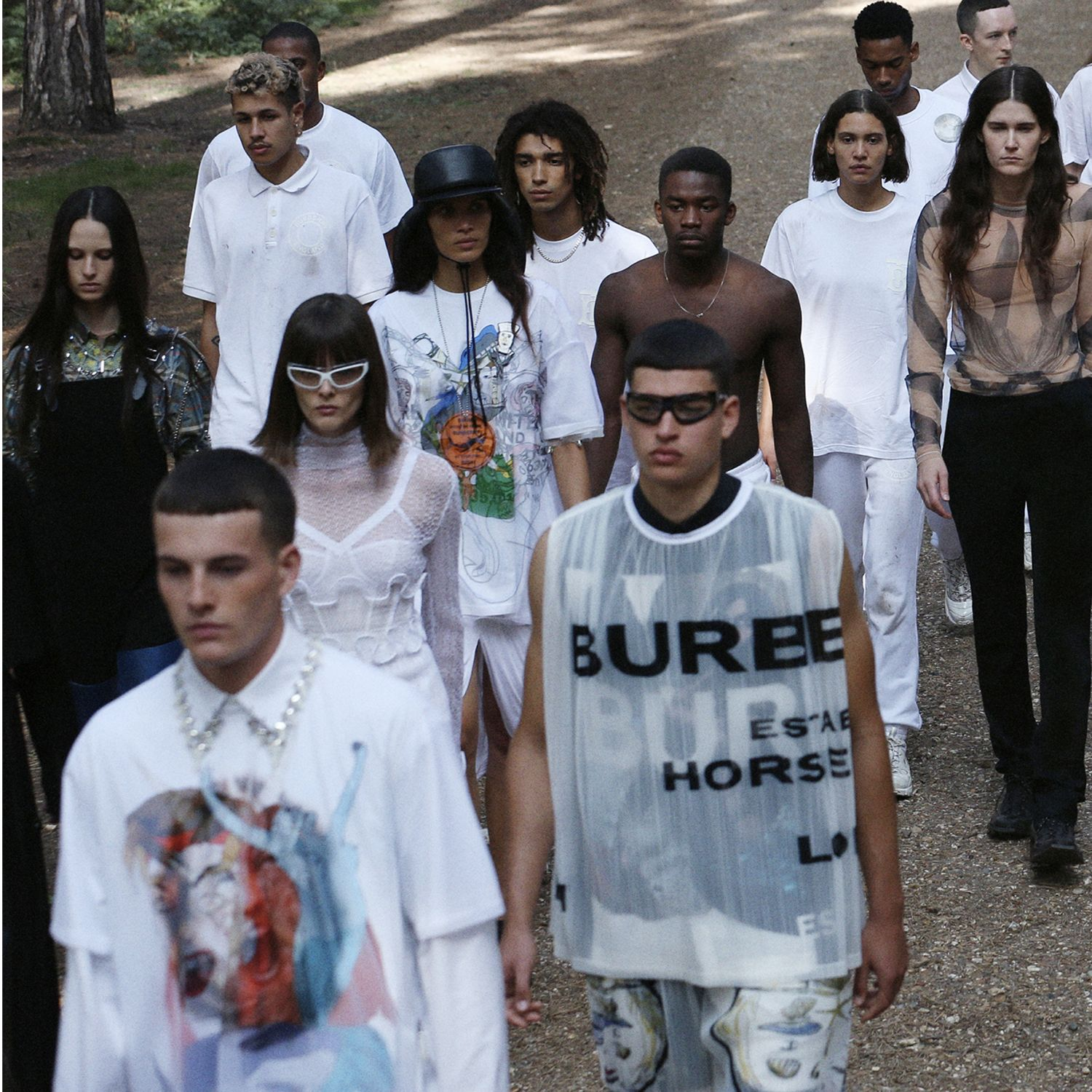 The Burberry Spring/Summer 2021 Runway Show