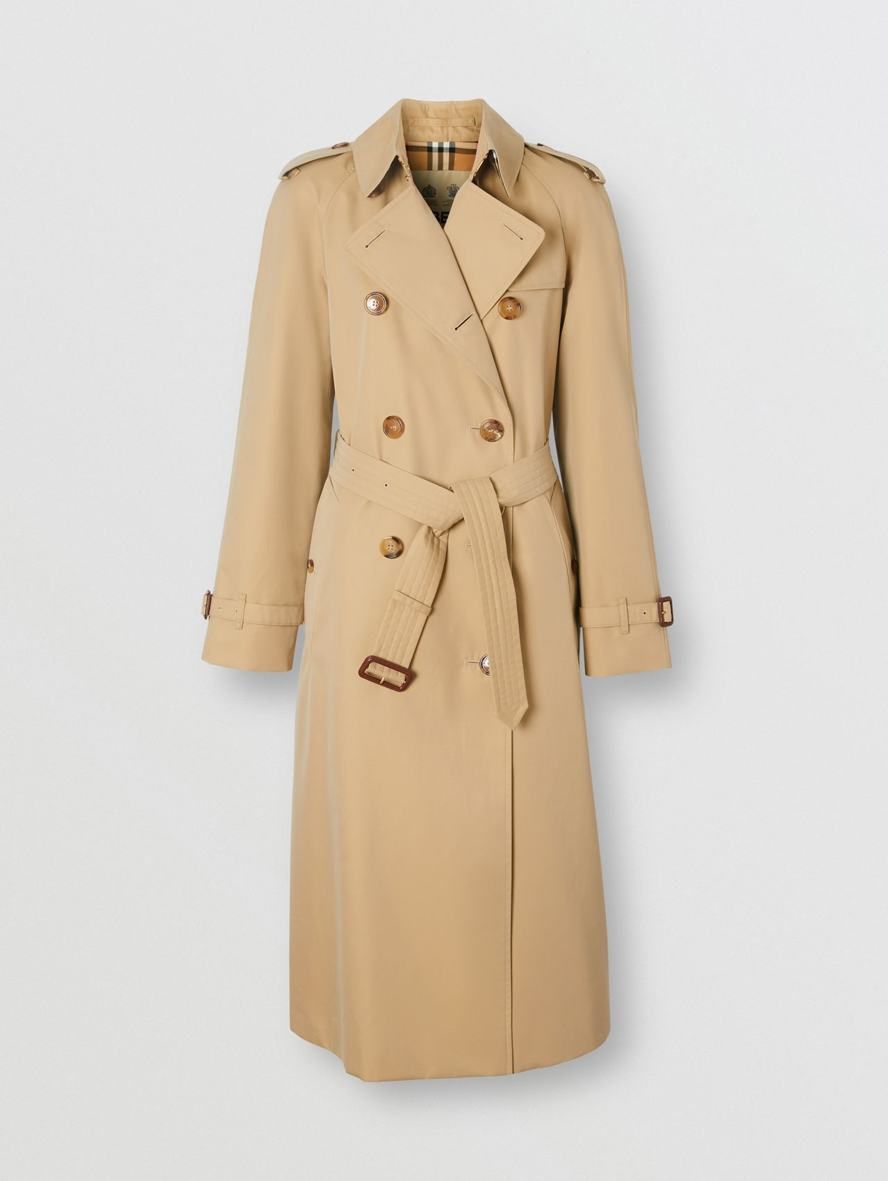The Waterloo - Trench coat Heritage longo in Mel