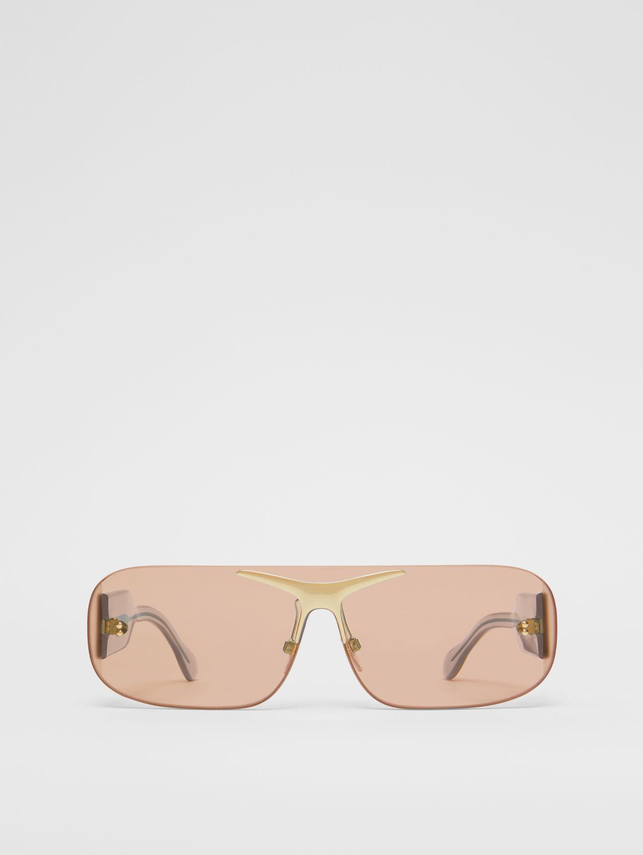 Blake Shield Sunglasses in Light Brown