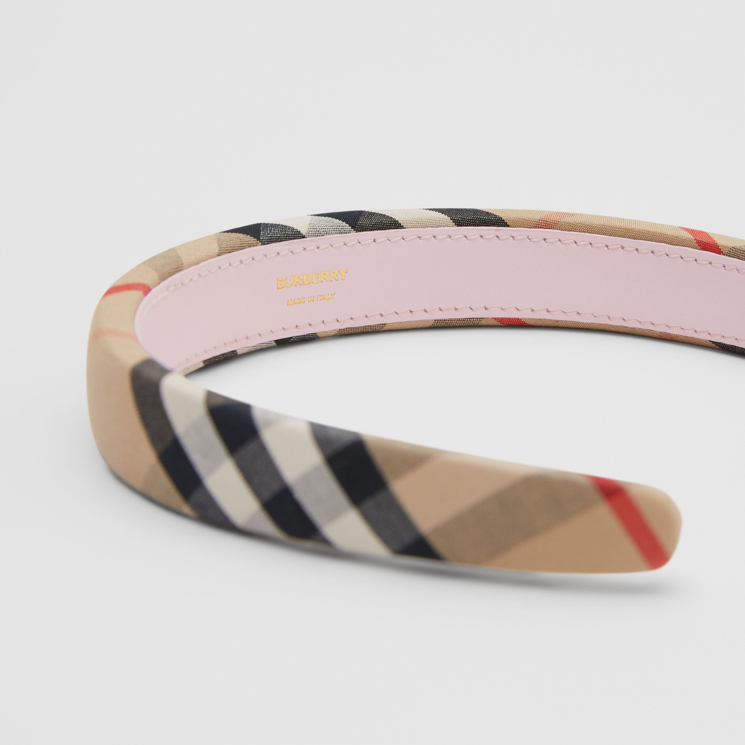 Vintage Check Hairband in Archive Beige - Children | Burberry - 2