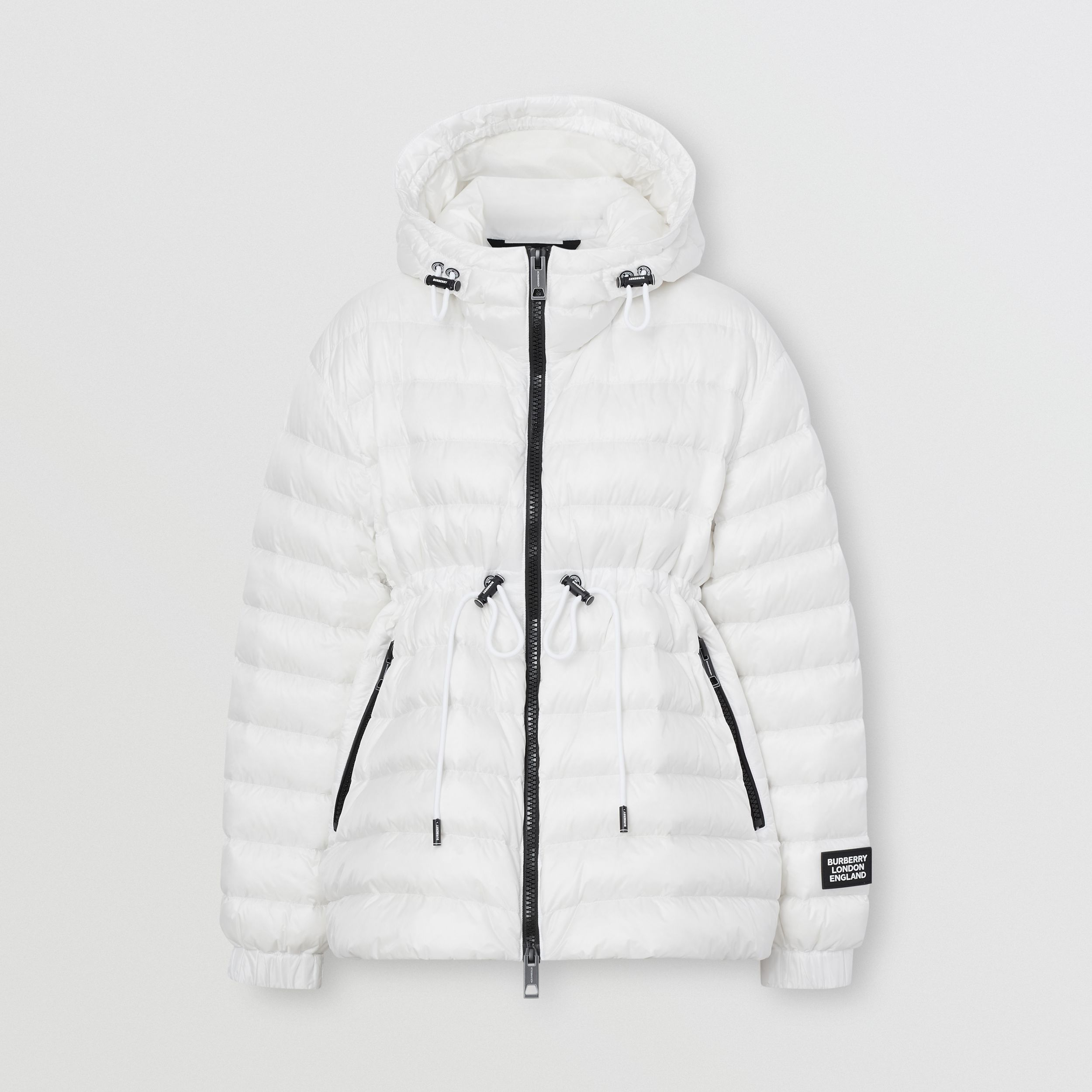 Lightweight Hooded Puffer Jacket - Women | Burberry - 3