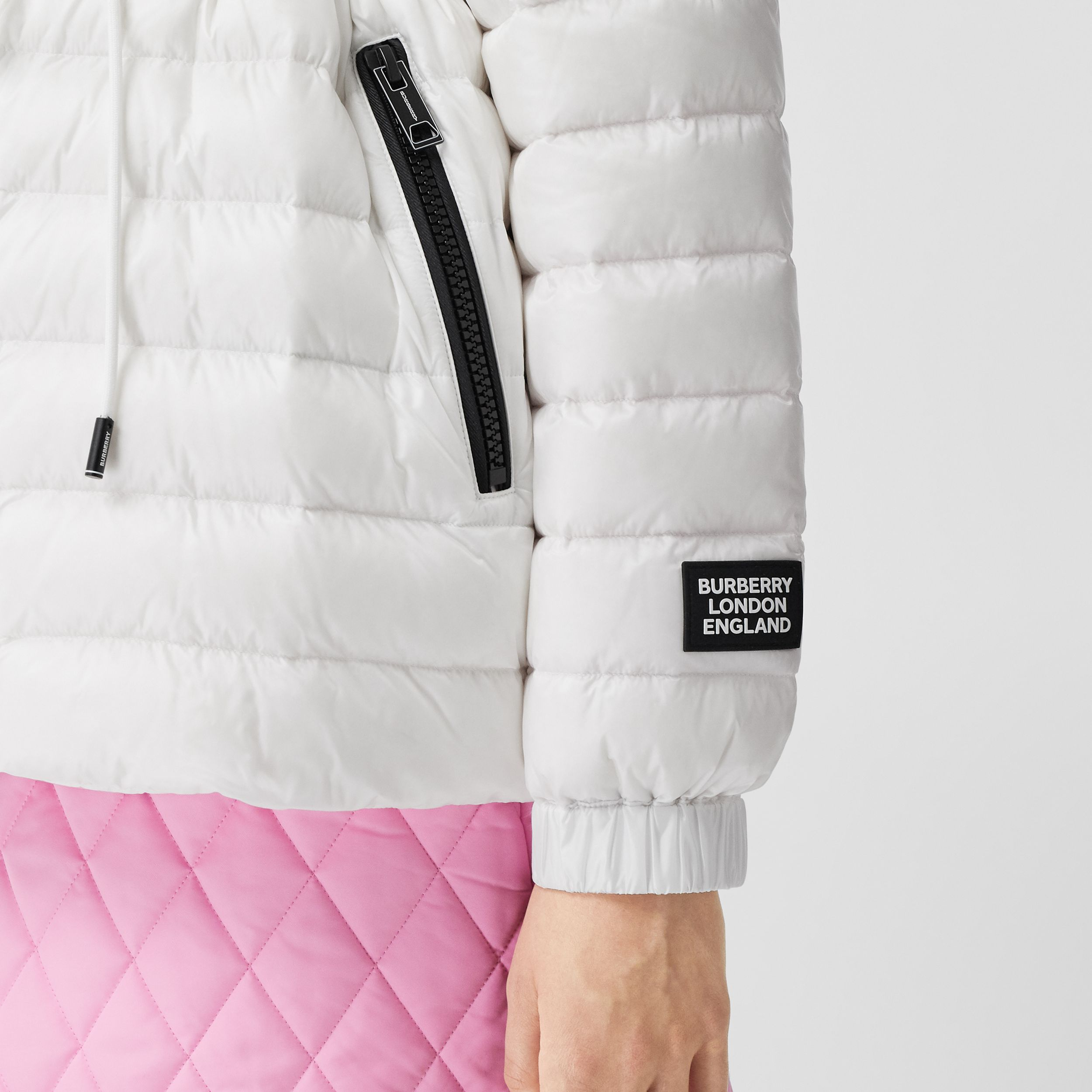 Lightweight Hooded Puffer Jacket - Women | Burberry - 4