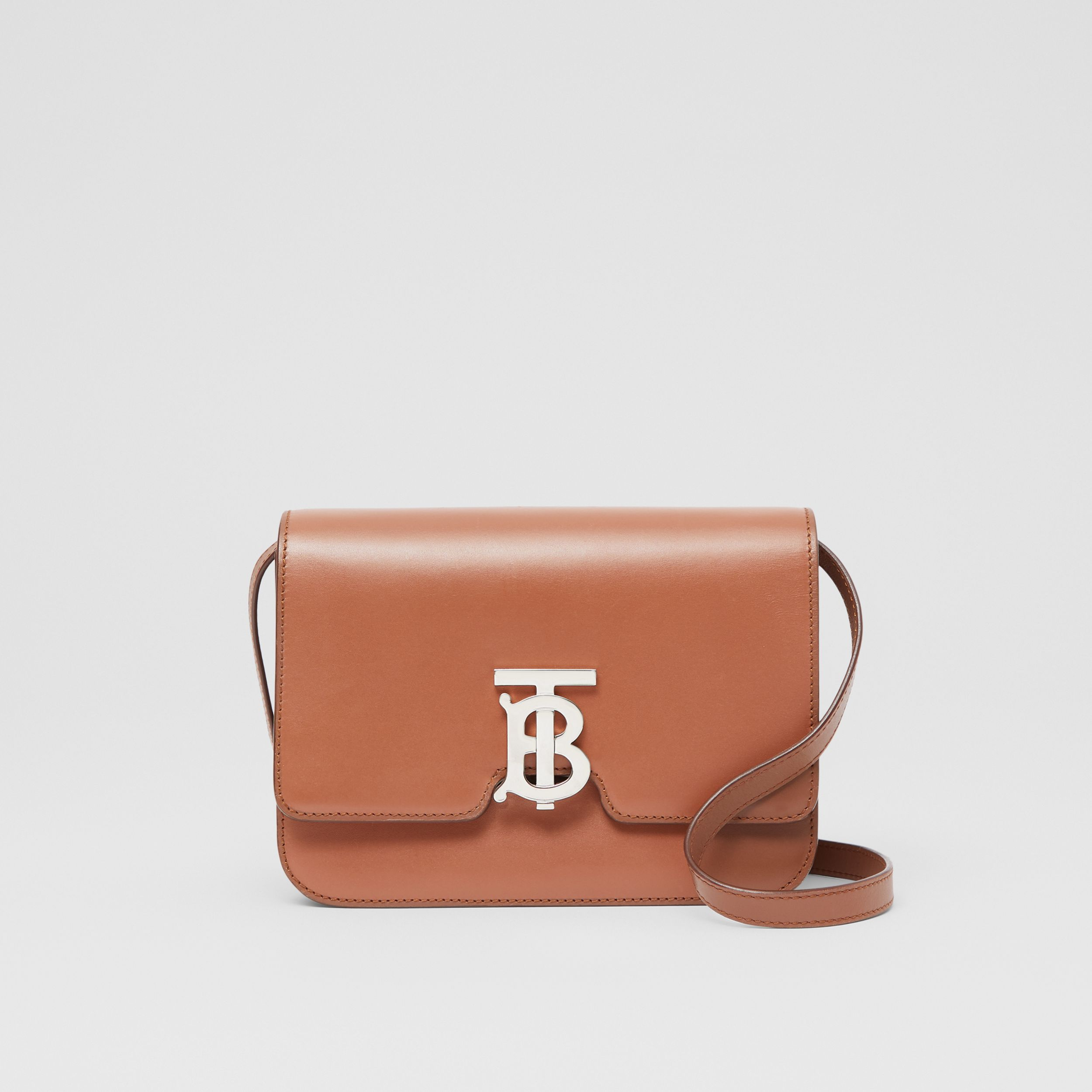 Small Leather TB Bag in Malt Brown - Women | Burberry - 1
