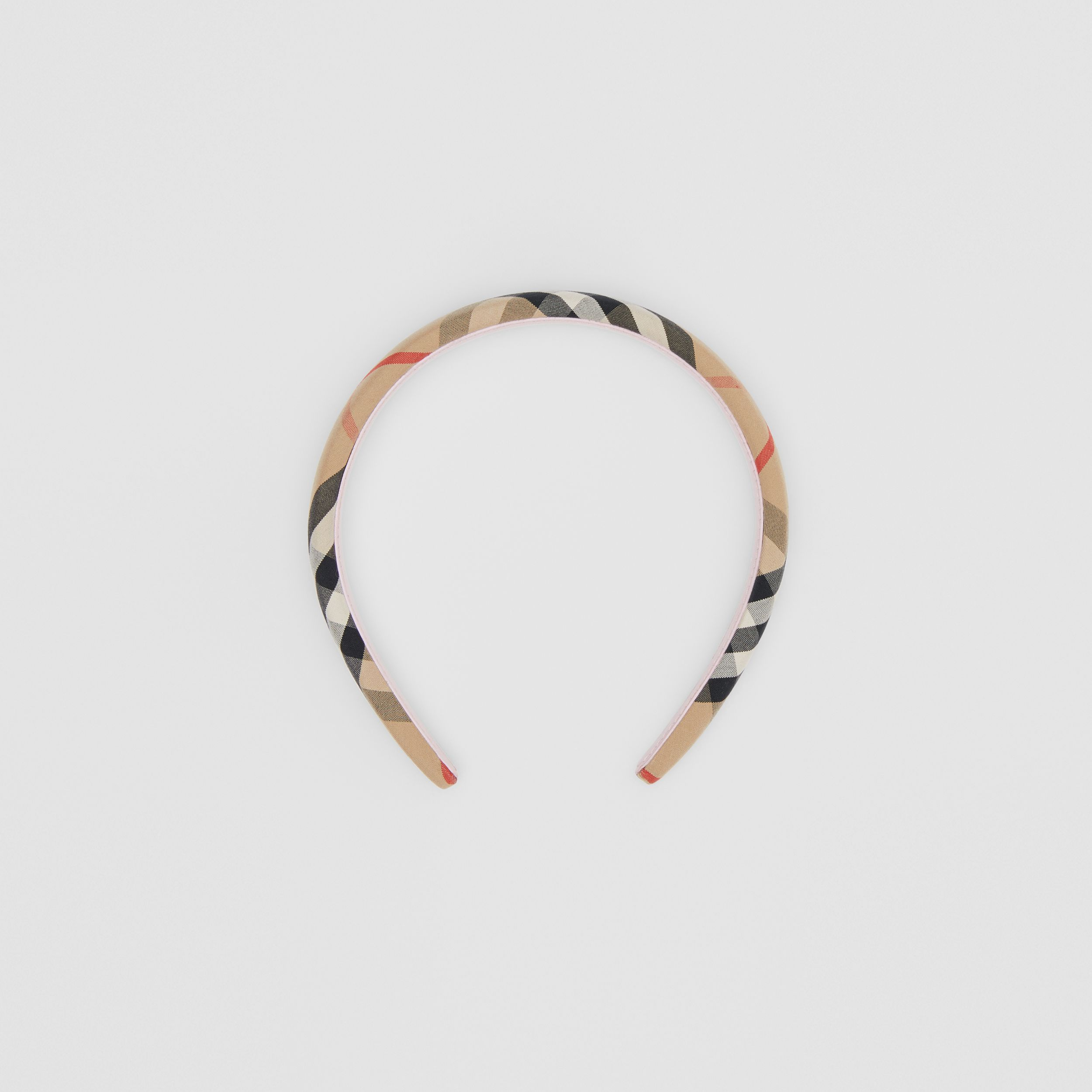 Vintage Check Hairband in Archive Beige - Children | Burberry - 1