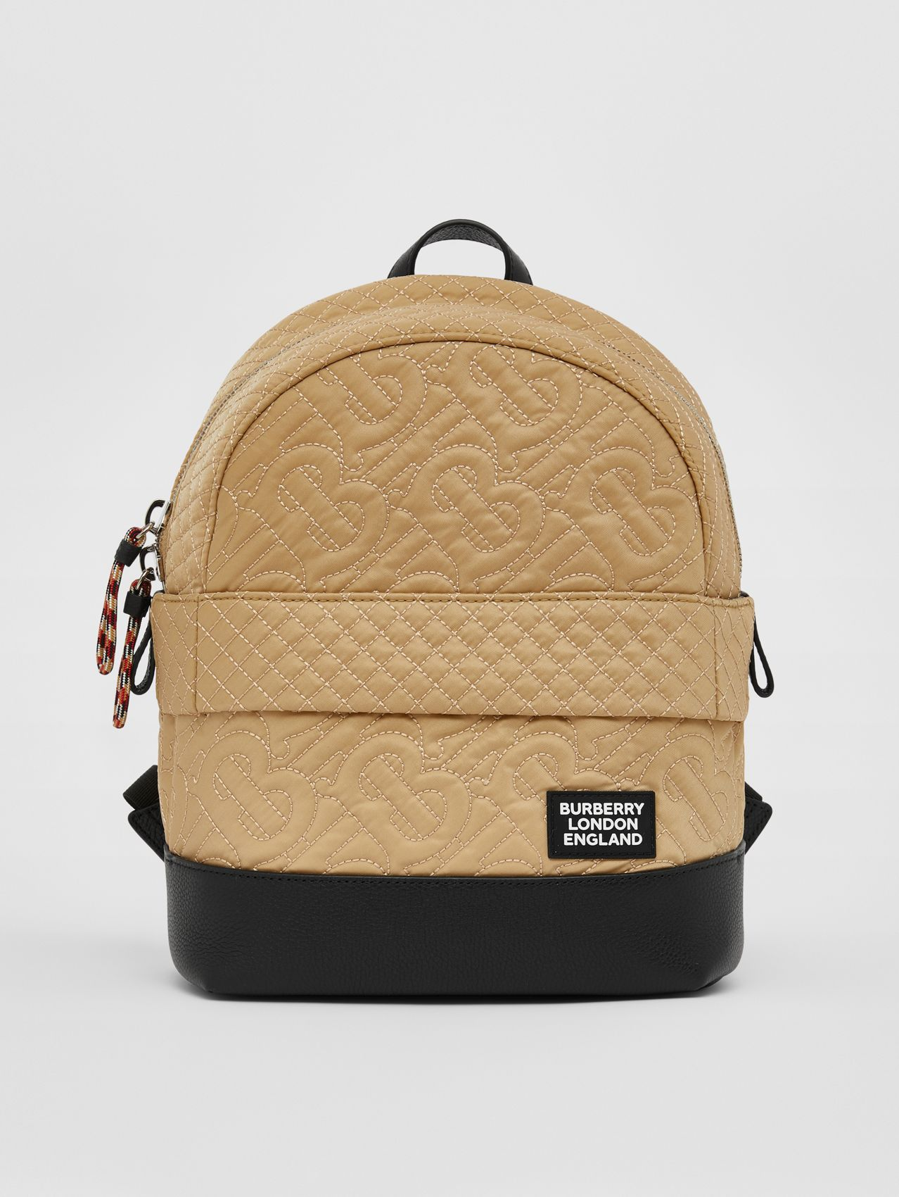 Monogram Quilted ECONYL® Backpack in Archive Beige