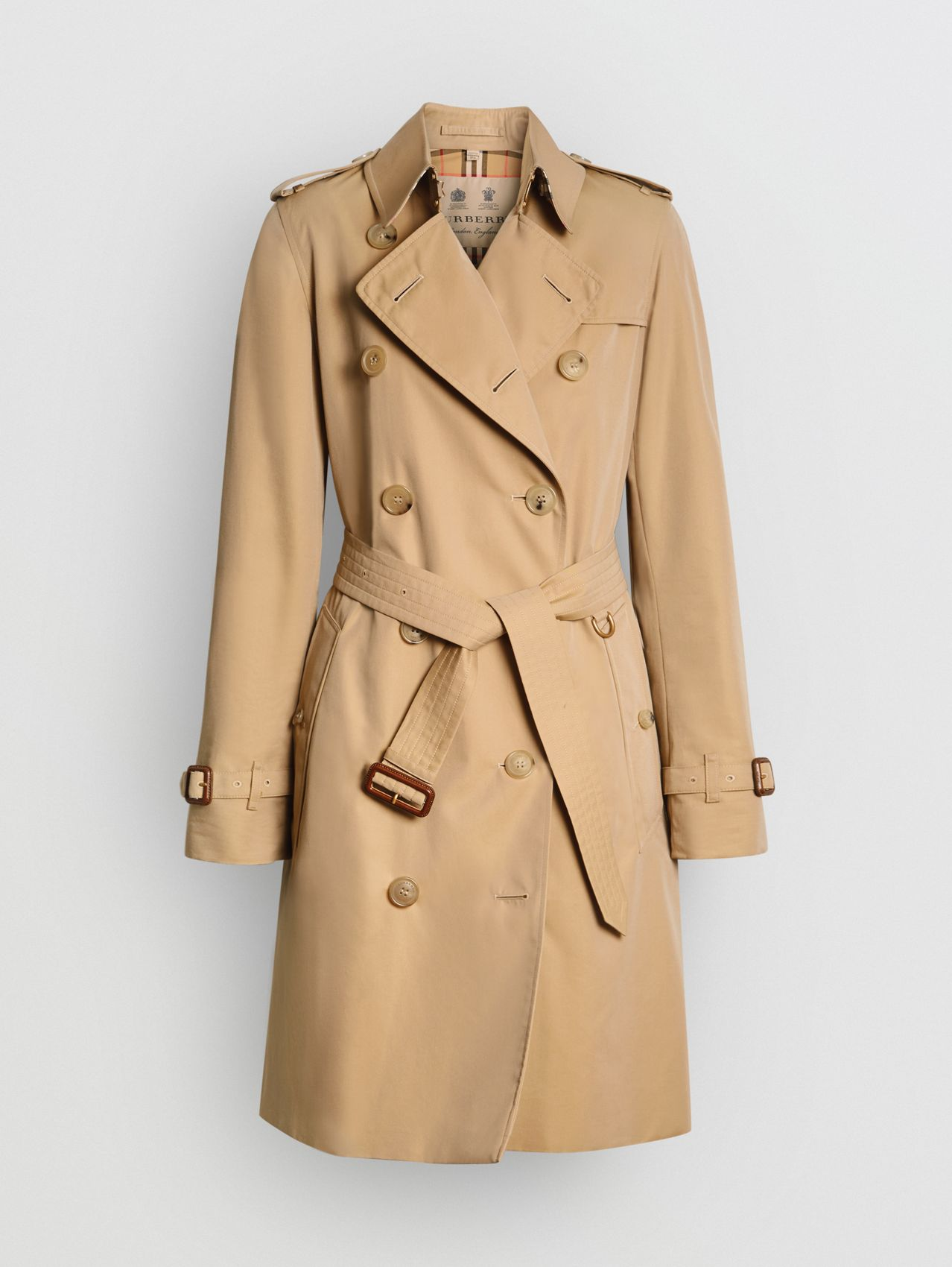 The Kensington - Trench coat Heritage médio in Mel