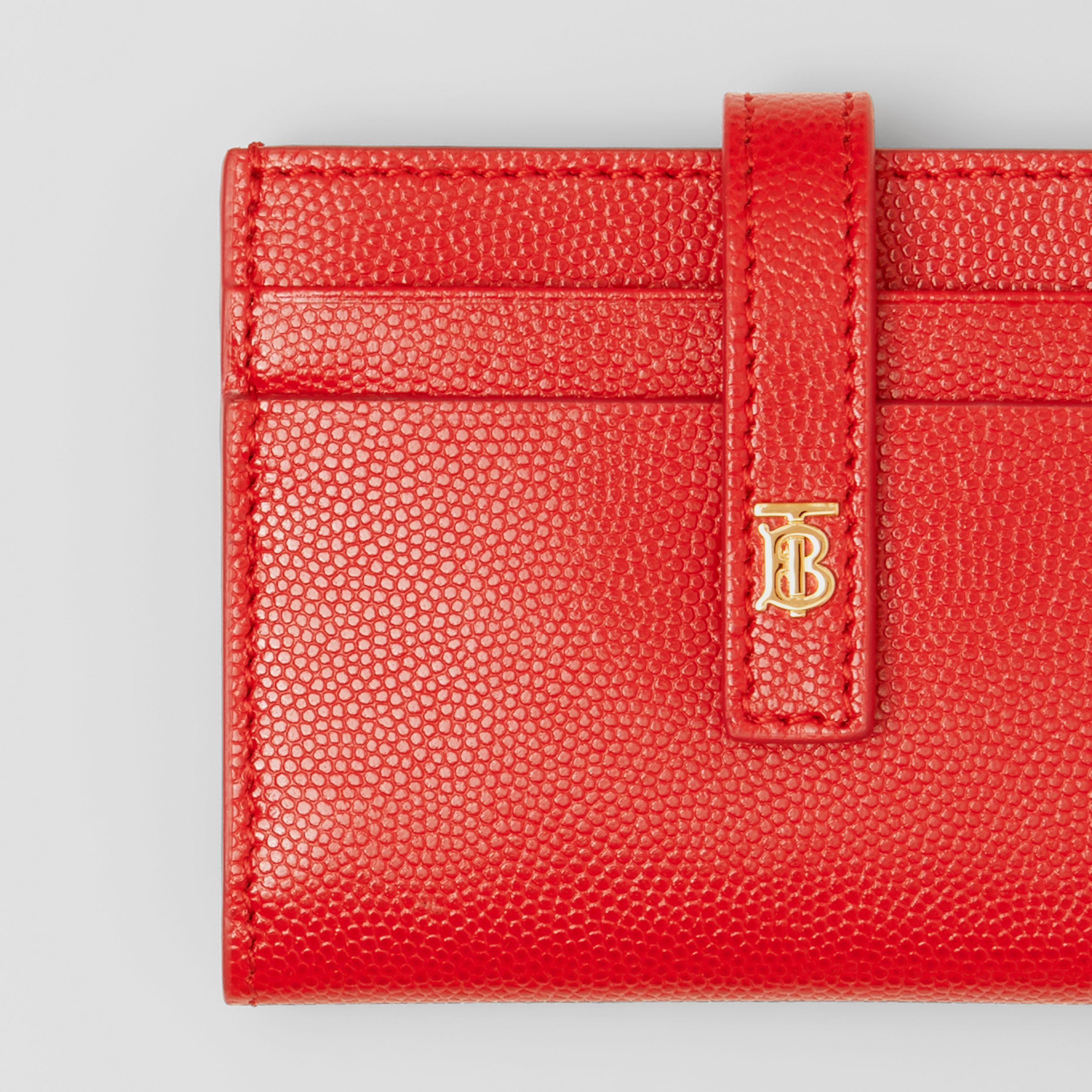 Monogram Motif Leather Folding Card Case - Women | Burberry - 2