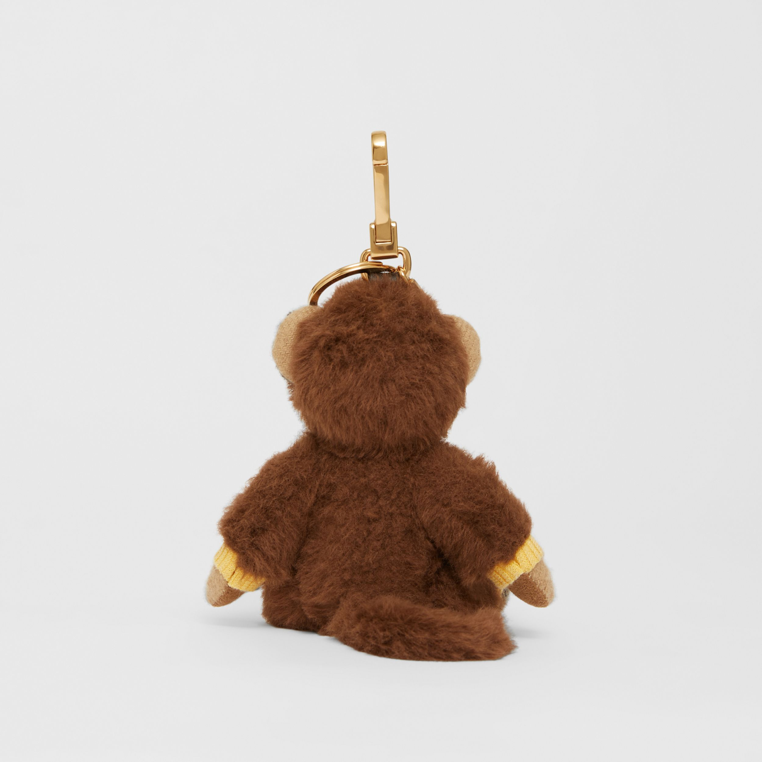 Thomas Bear Charm in Monkey Costume in Archive Beige | Burberry - 4